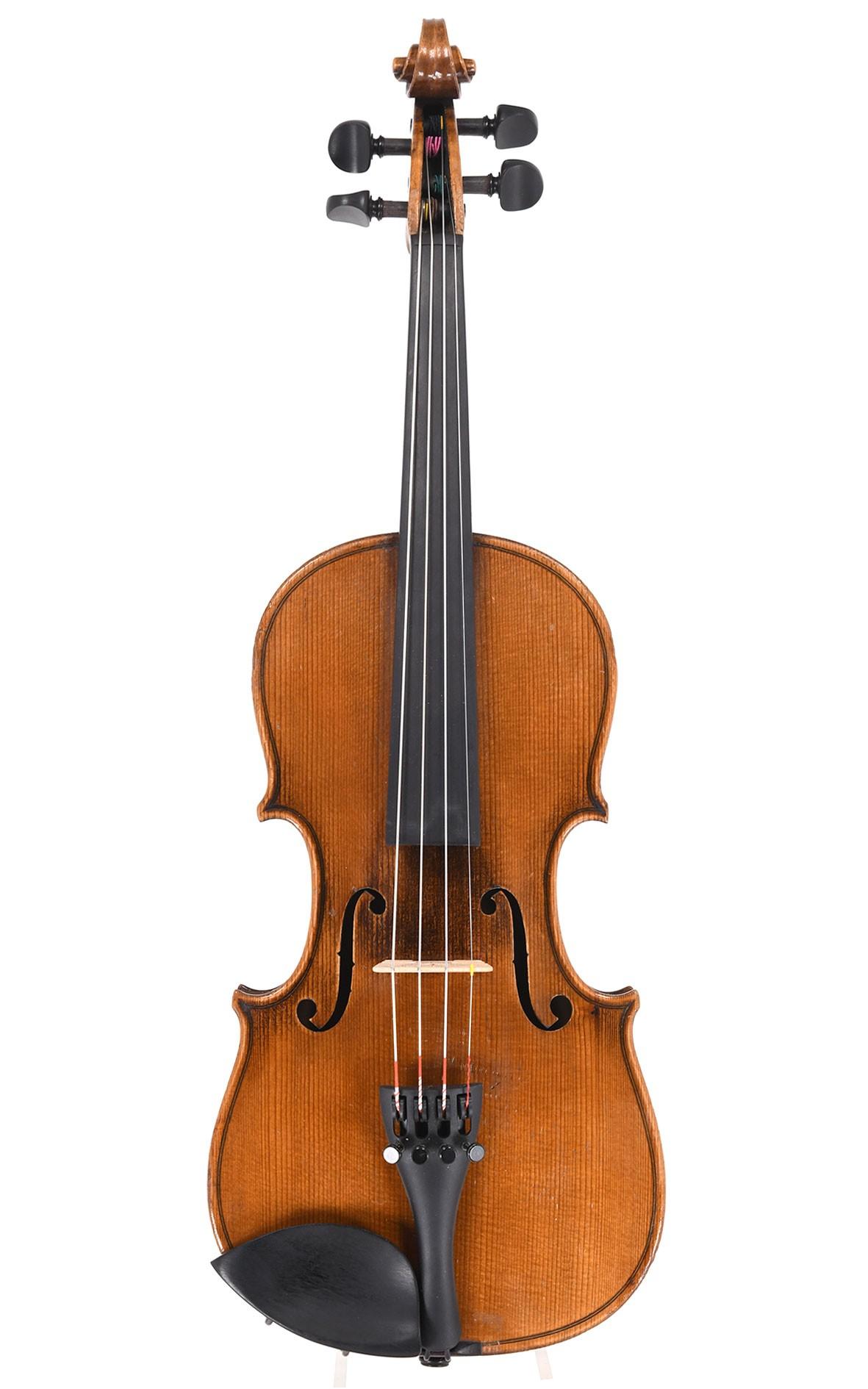 Antique German 1/2 violin from Markneukirchen