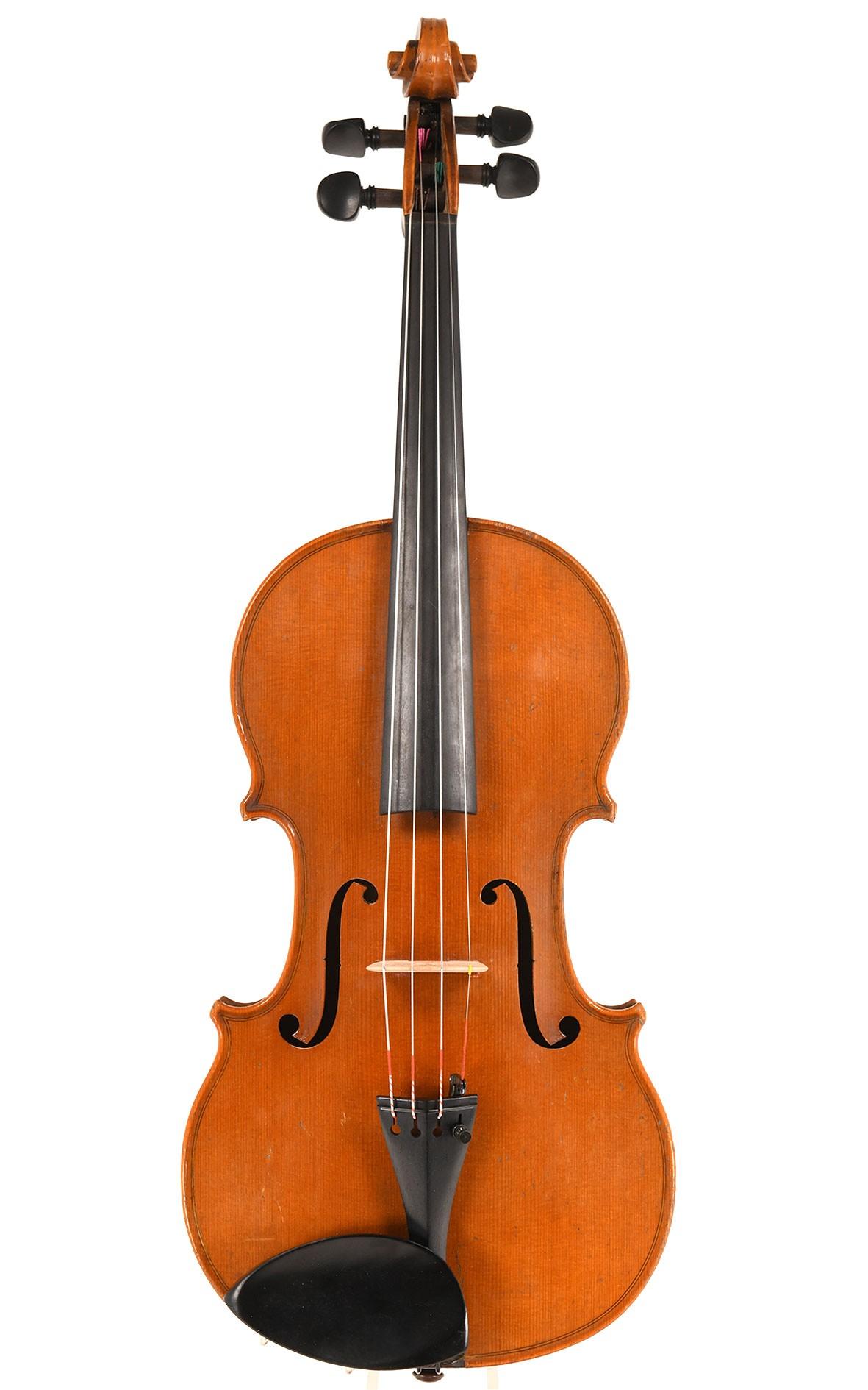 Antike französische Violine: Claude Chevrier um 1850