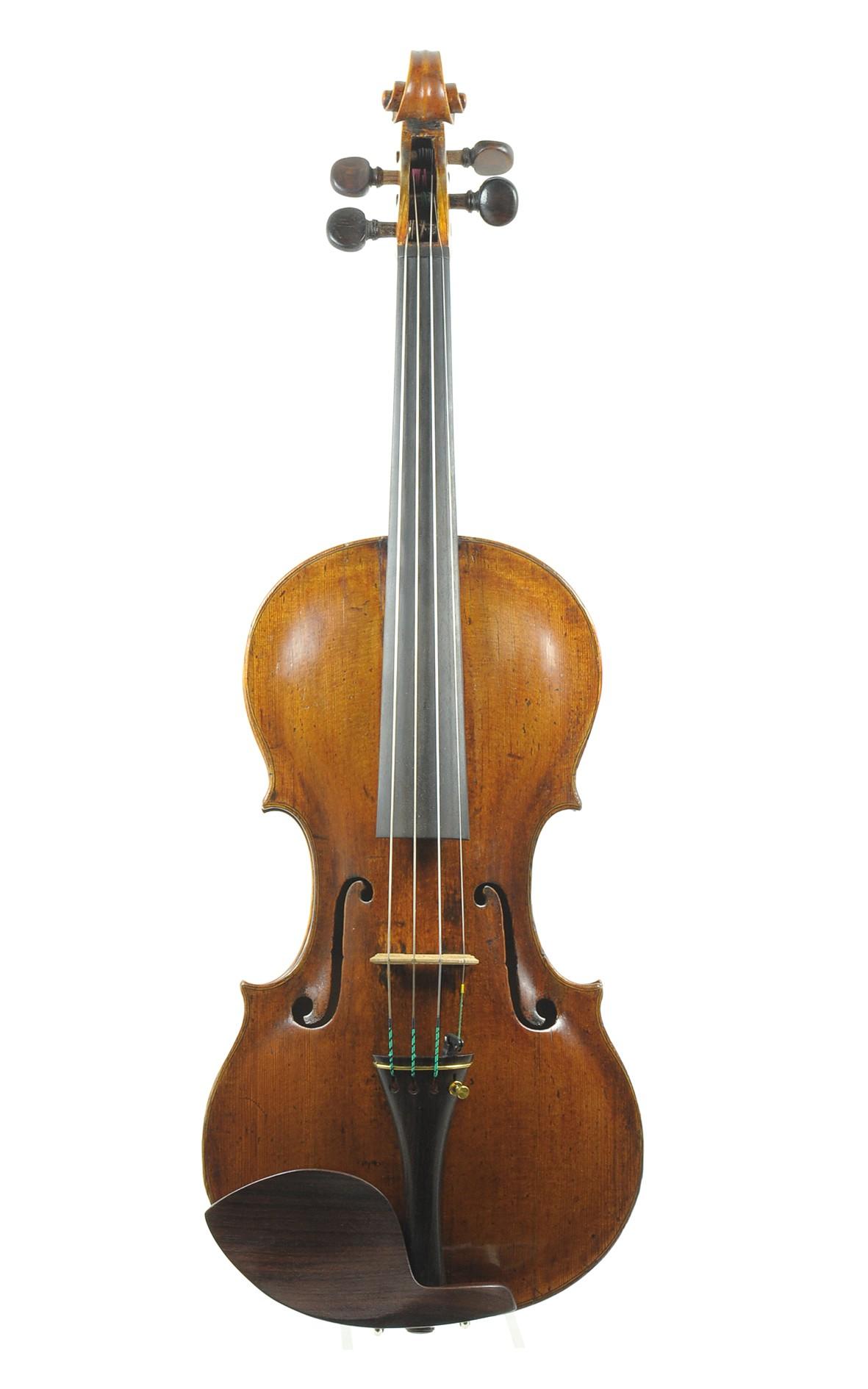 Johann Gottfried Hamm, master violin from the Vogtland region, c. 1780