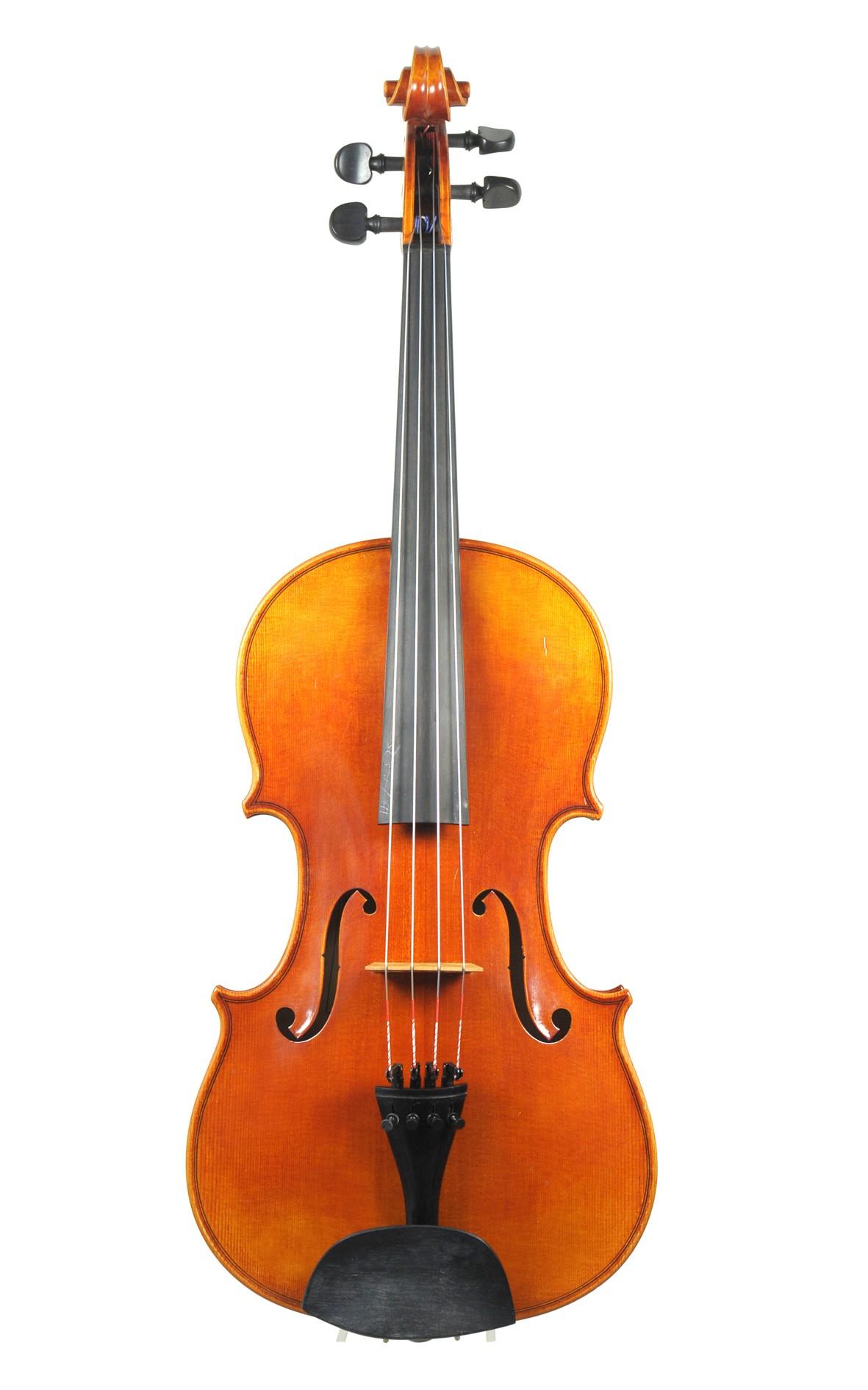 German master viola No. 19, Klaus Schlegel, Erlbach / Markneukirchen - top