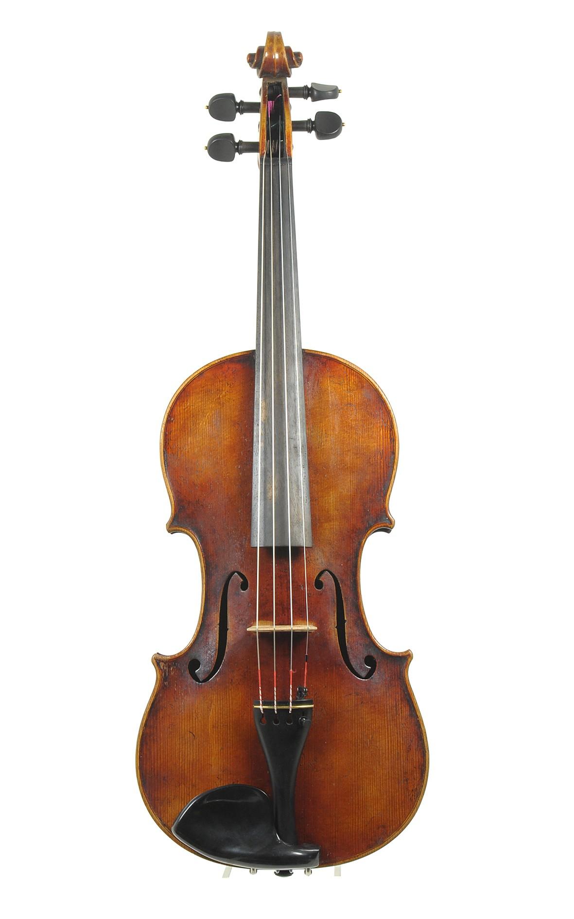 German violin after Guarneri, Markneukirchen ca. 1900 - top