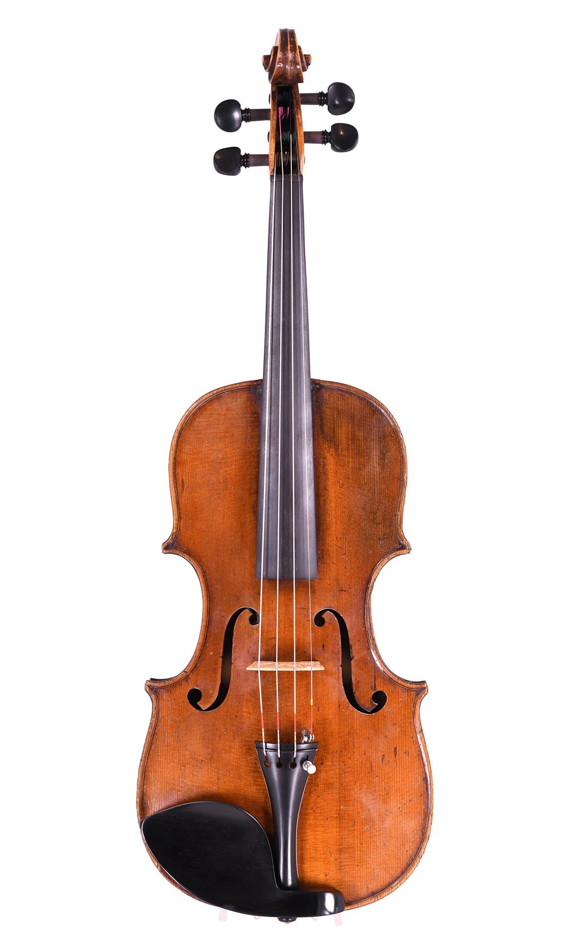 Hopf violin, Klingenthal - table of spruce wood