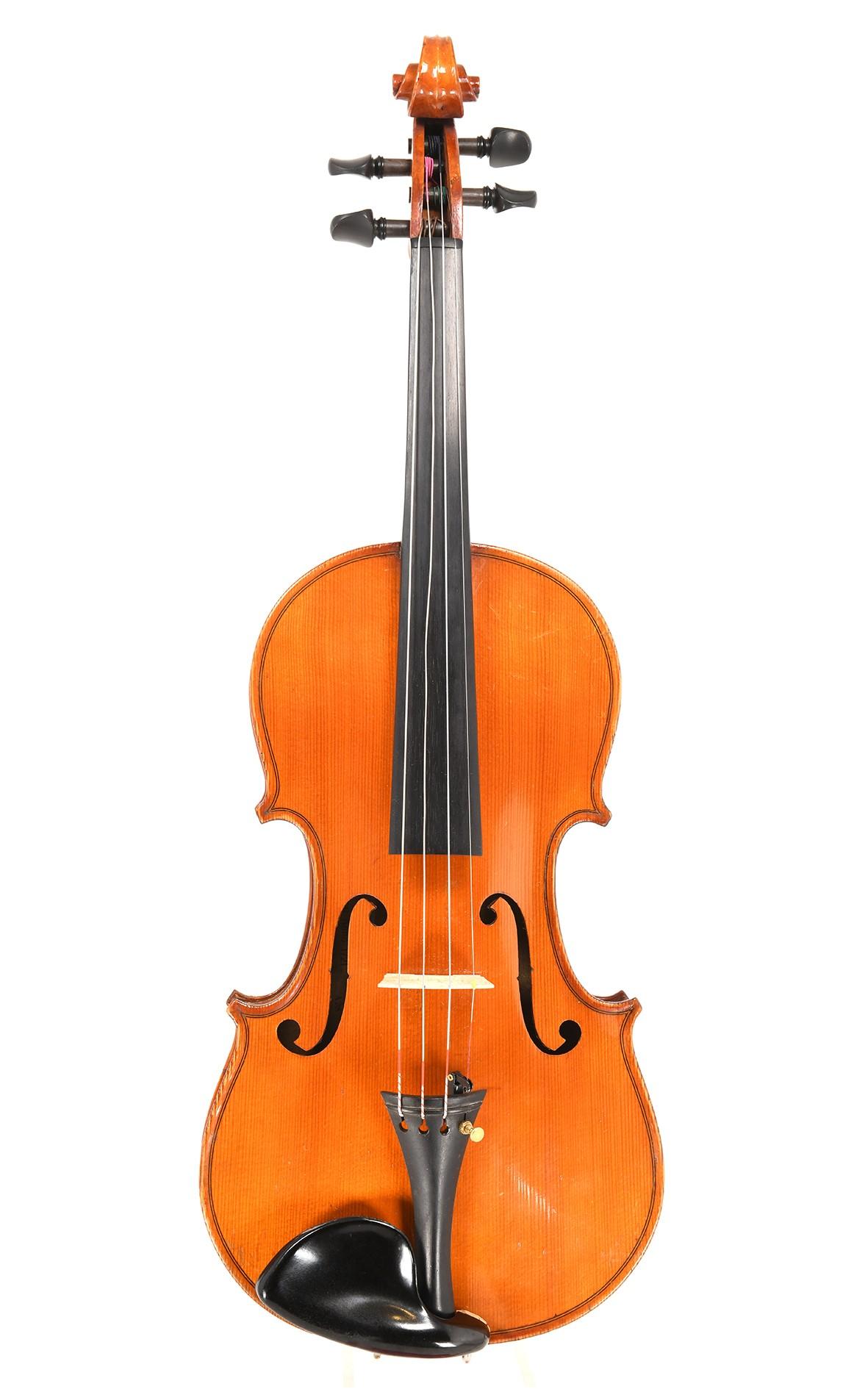 Französische Violine aus Mirecourt, copie de Stradivarius