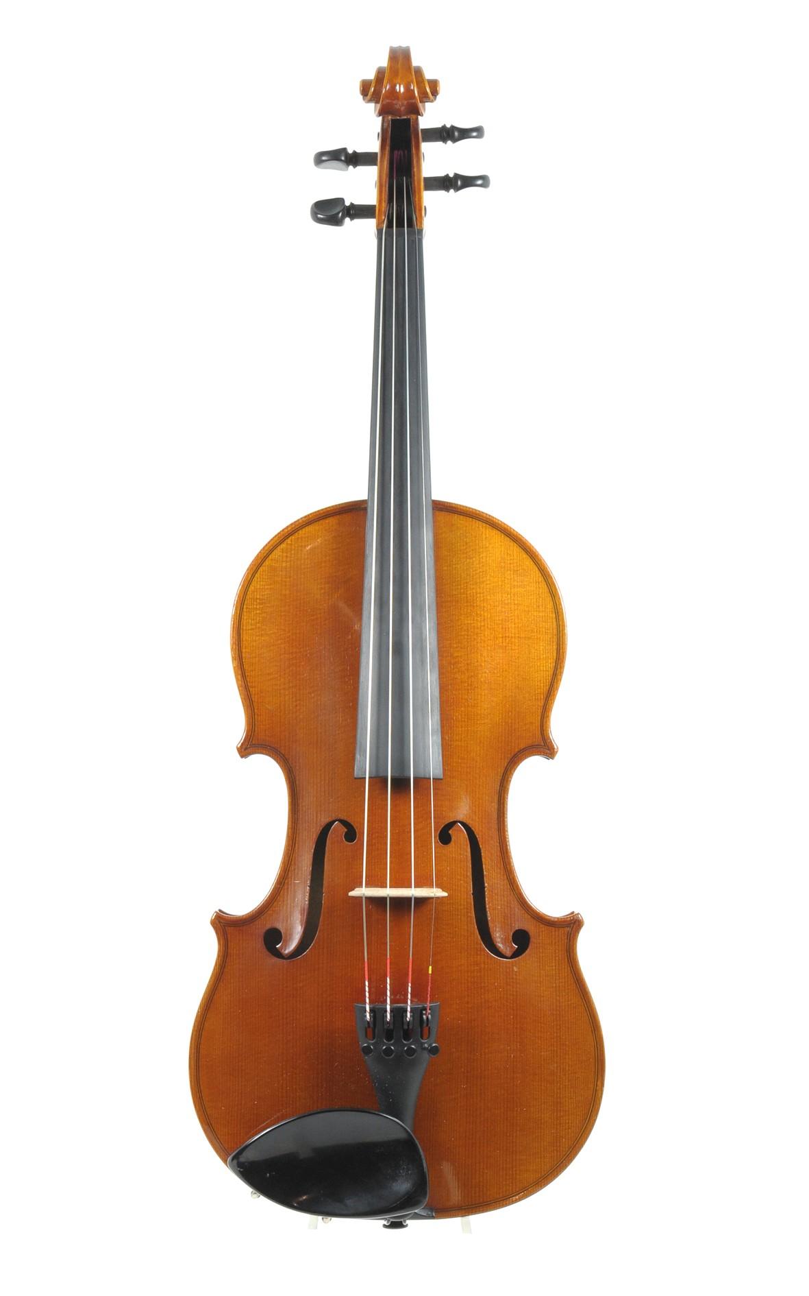 Markneukirchen violin, Carl August Schuster