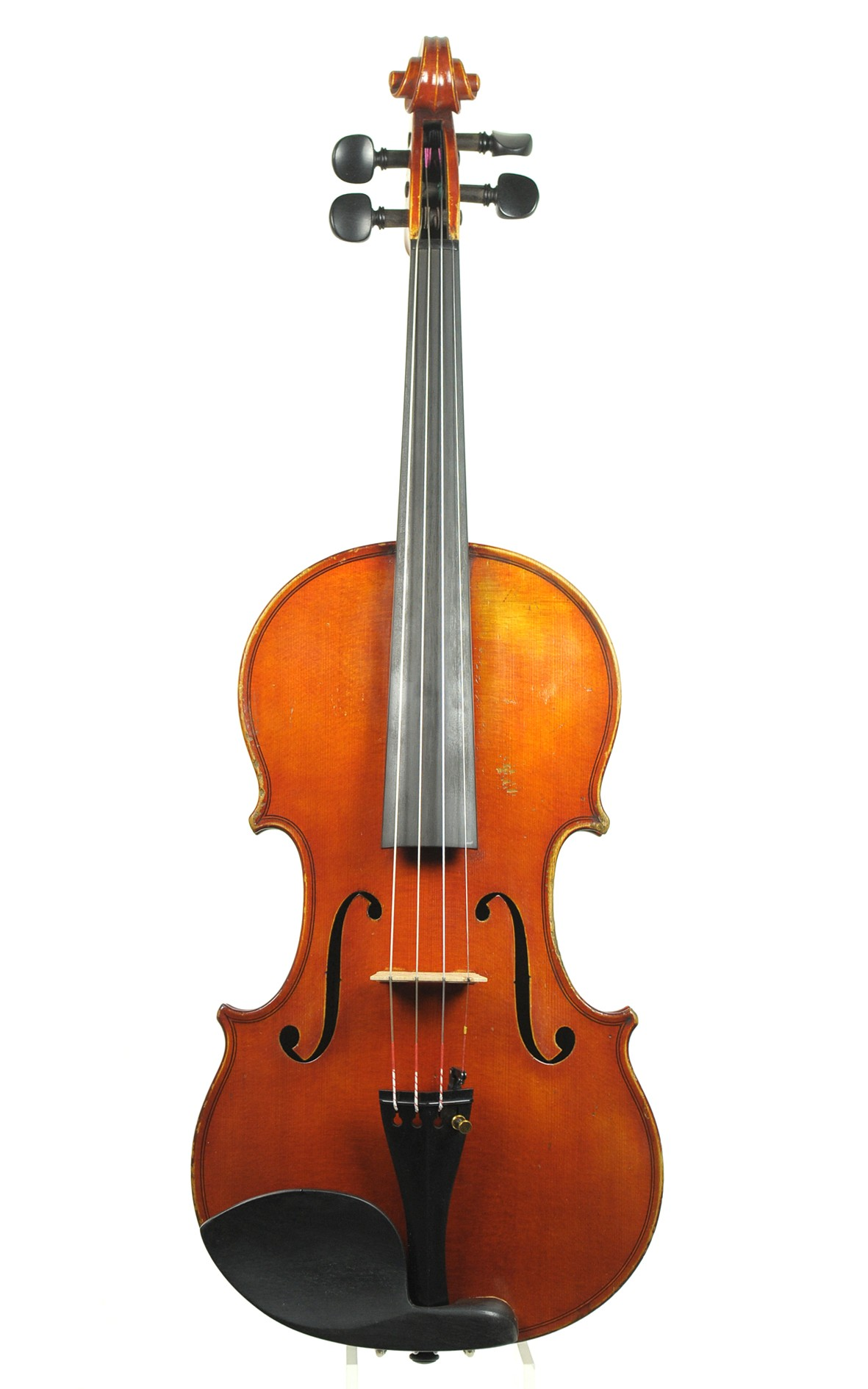 Czech violin by Alois Bittner, 1930 - top view