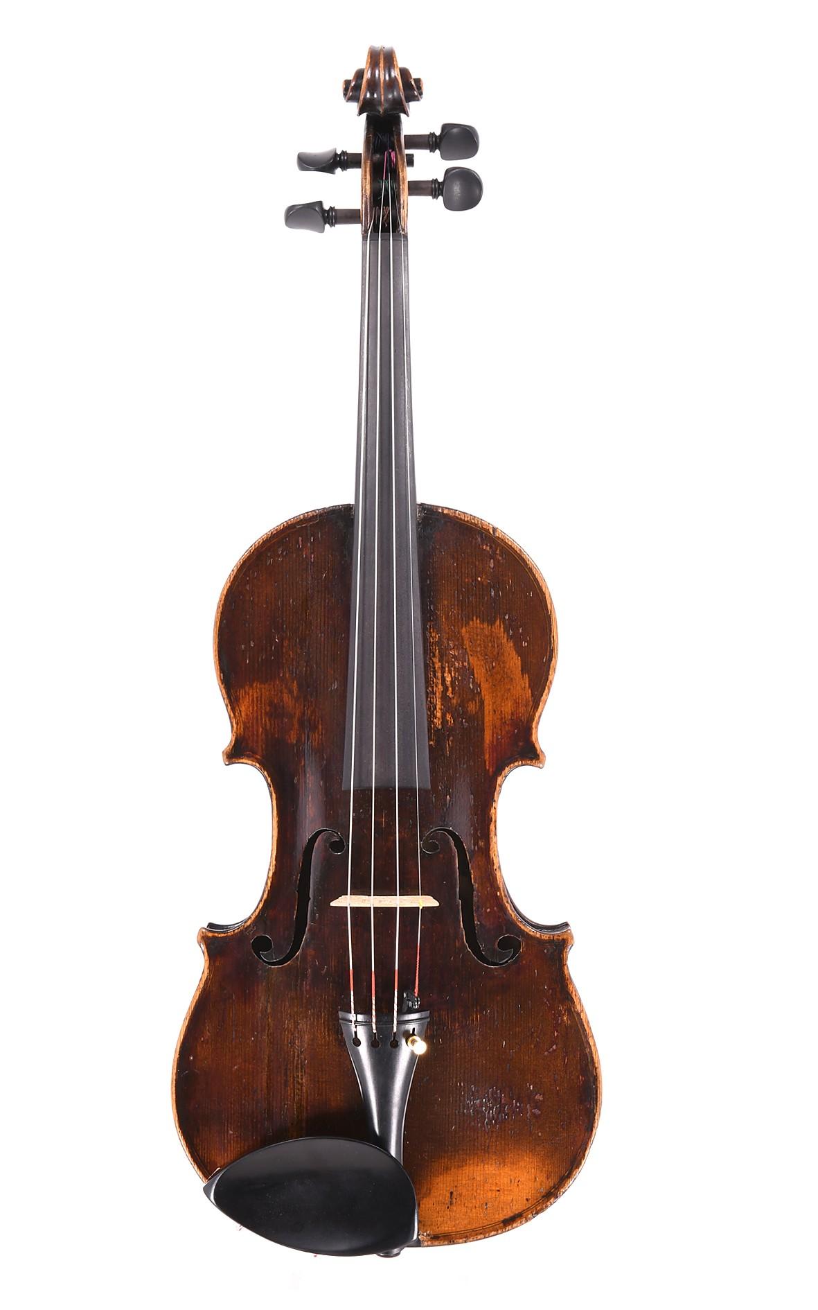 Charotte Familie altfranzösische Geige, um 1800