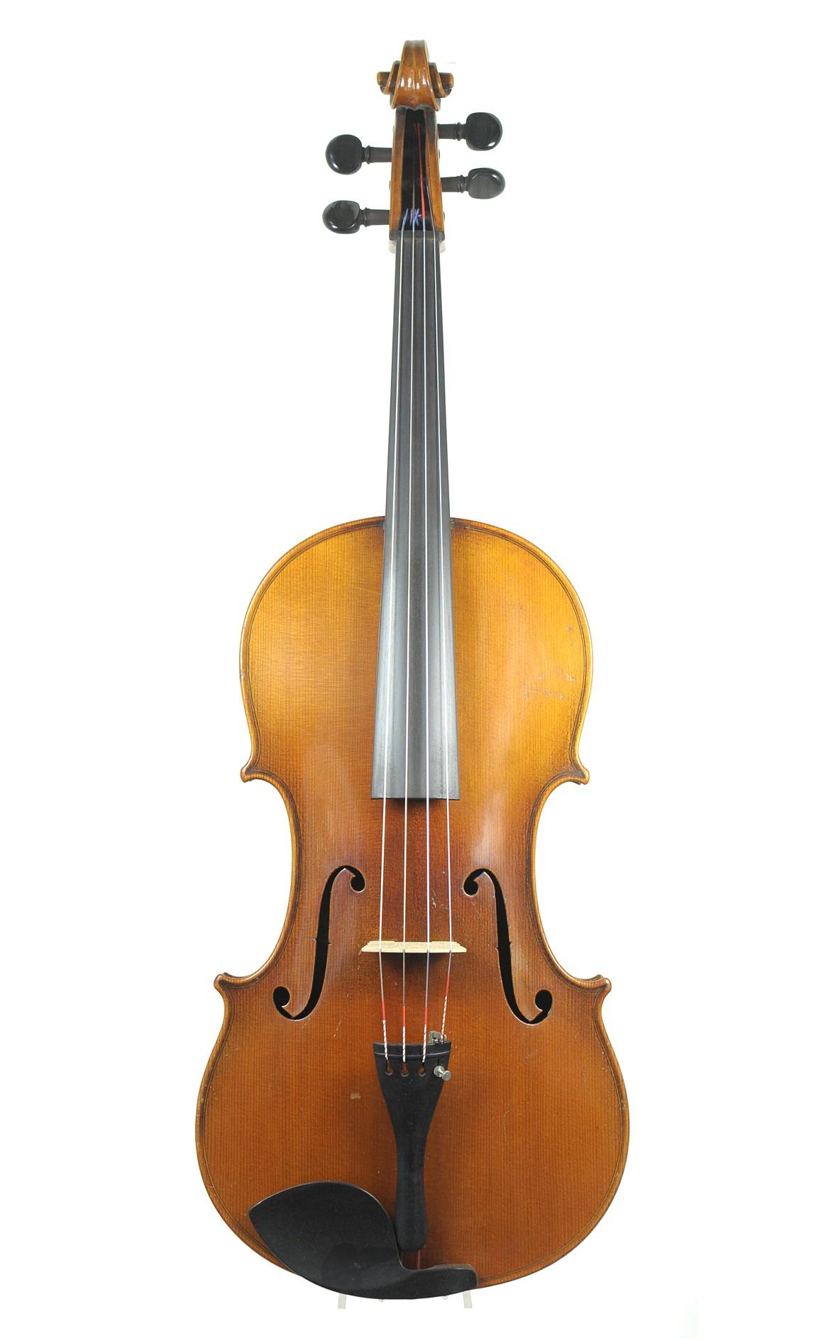 "Rare ""Ritter viola"", viola alta, Markneukirchen, c.1910 - Top"