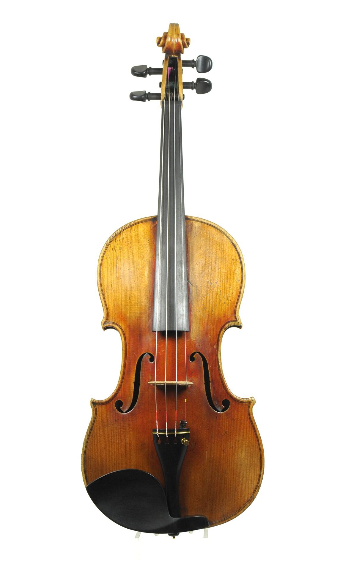 Saxonian, an antique violin ca. 1860 - top
