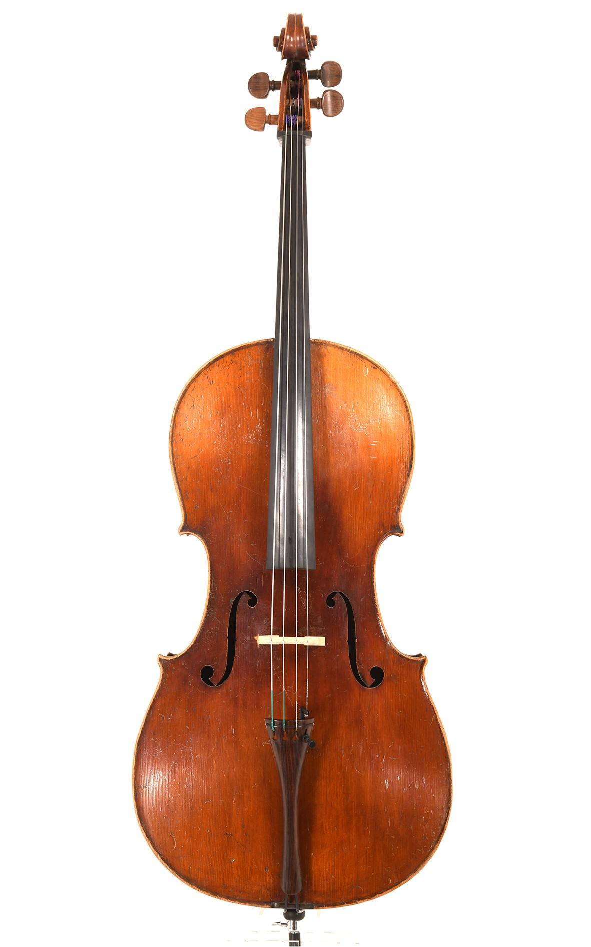 Fine cello, Neuner & Hornsteiner, Mittenwald, approx. 1850
