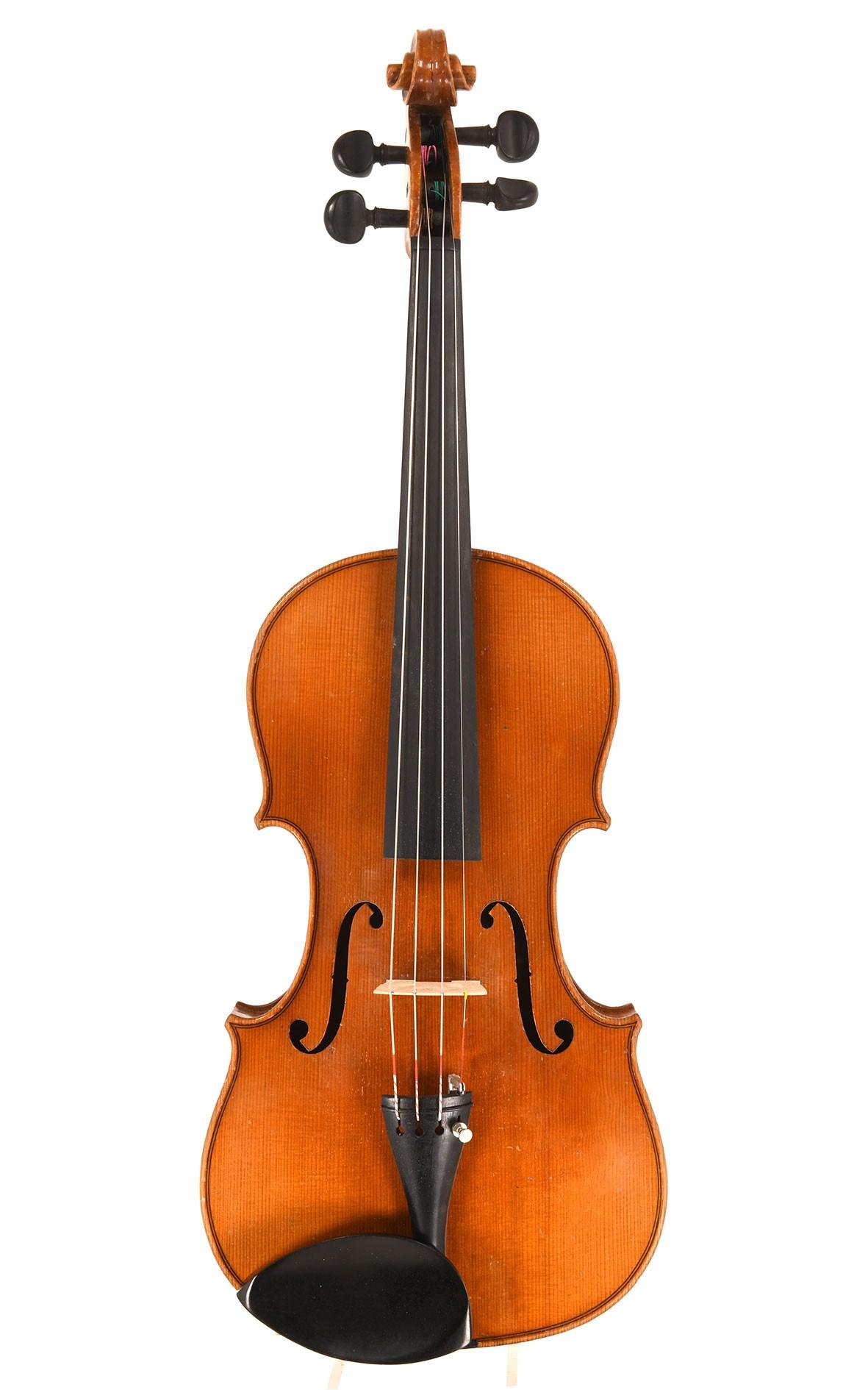 Vieux violon de Markneukirchen, vers 1940