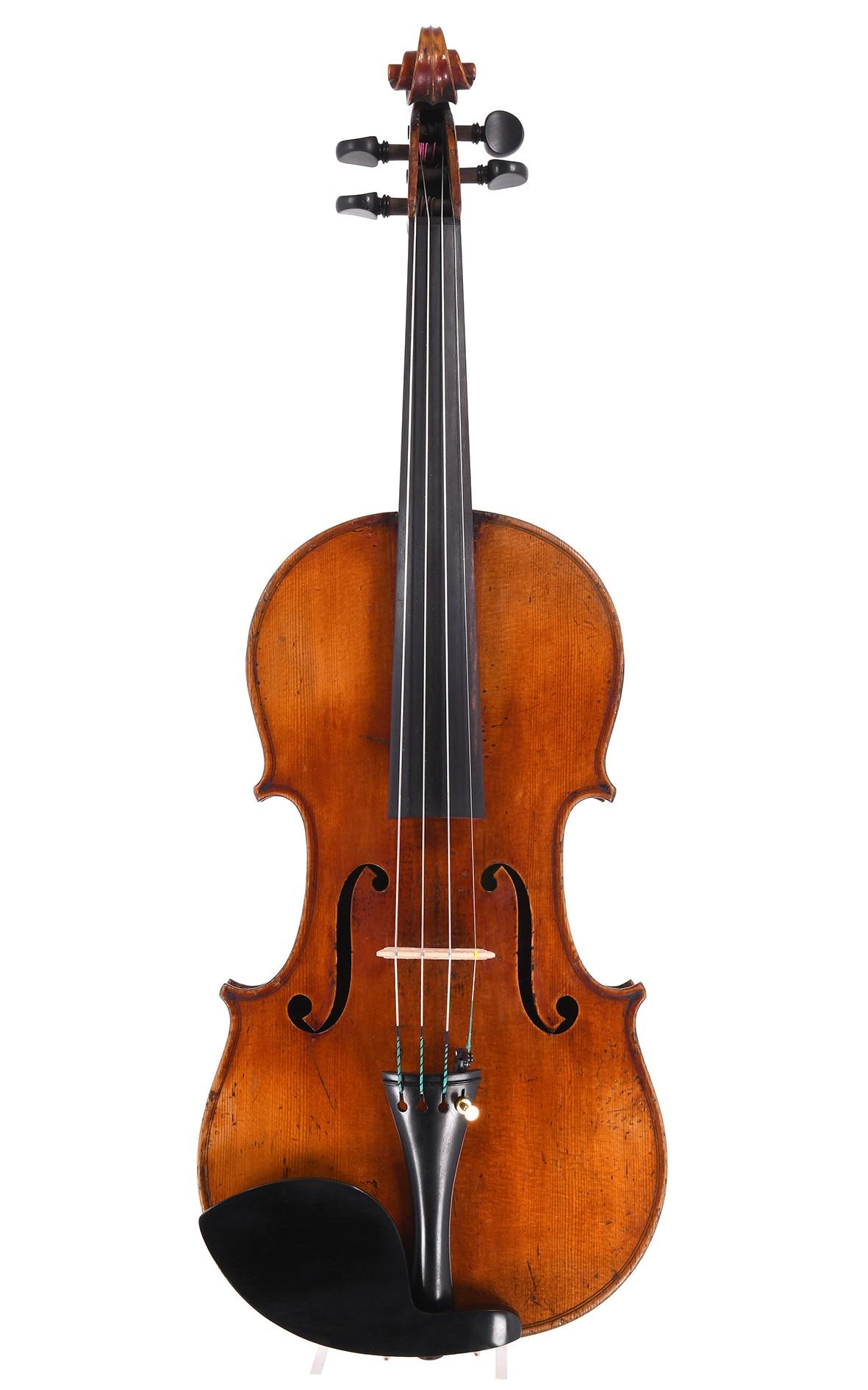 Joseph Garaboeuf alias Lacombe-Vigneron, französische Violine aus dem Jahr 1858