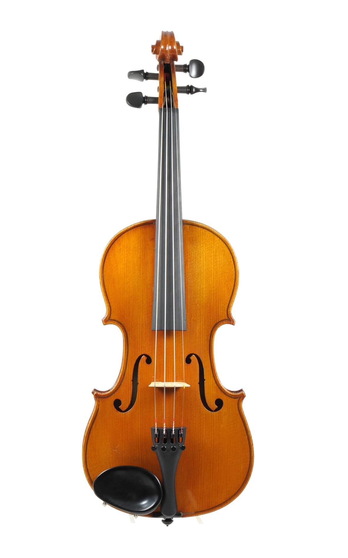 J.T.L. 3/4 violin, Mirecourt, approx. 1900 - top view
