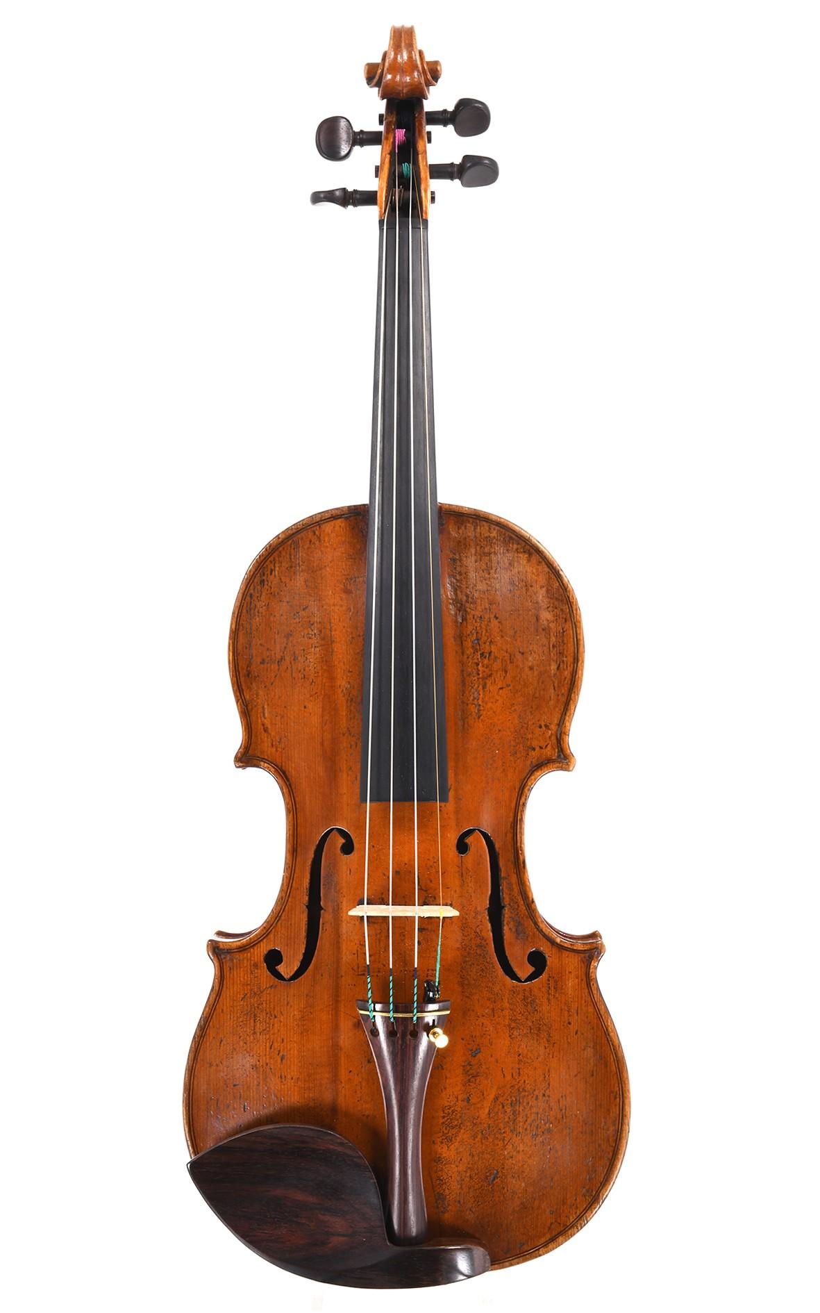 Feine französische Violine von Nicolas Augustin Chappuy, circa 1770