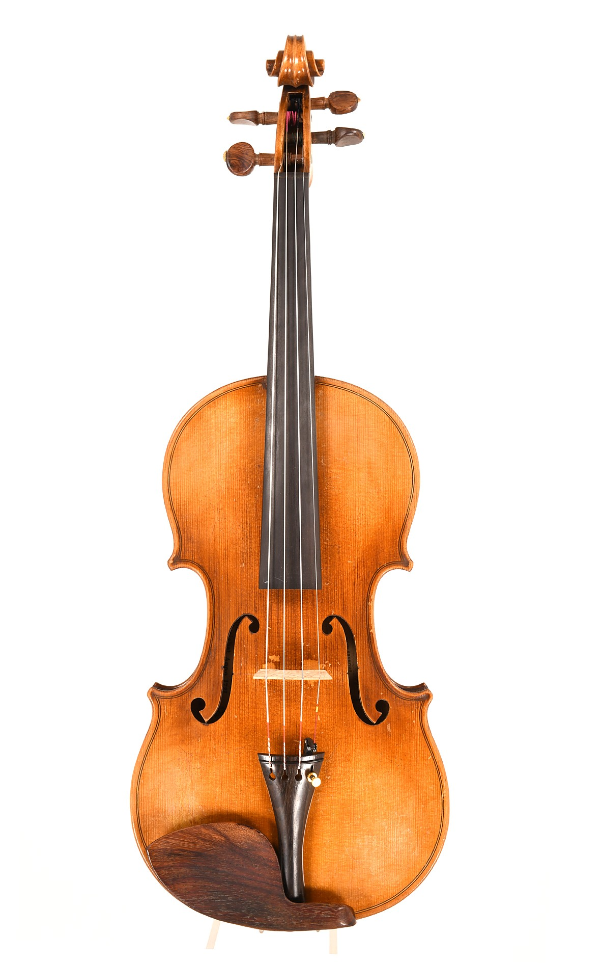 J.T.L. Paris violin - top view