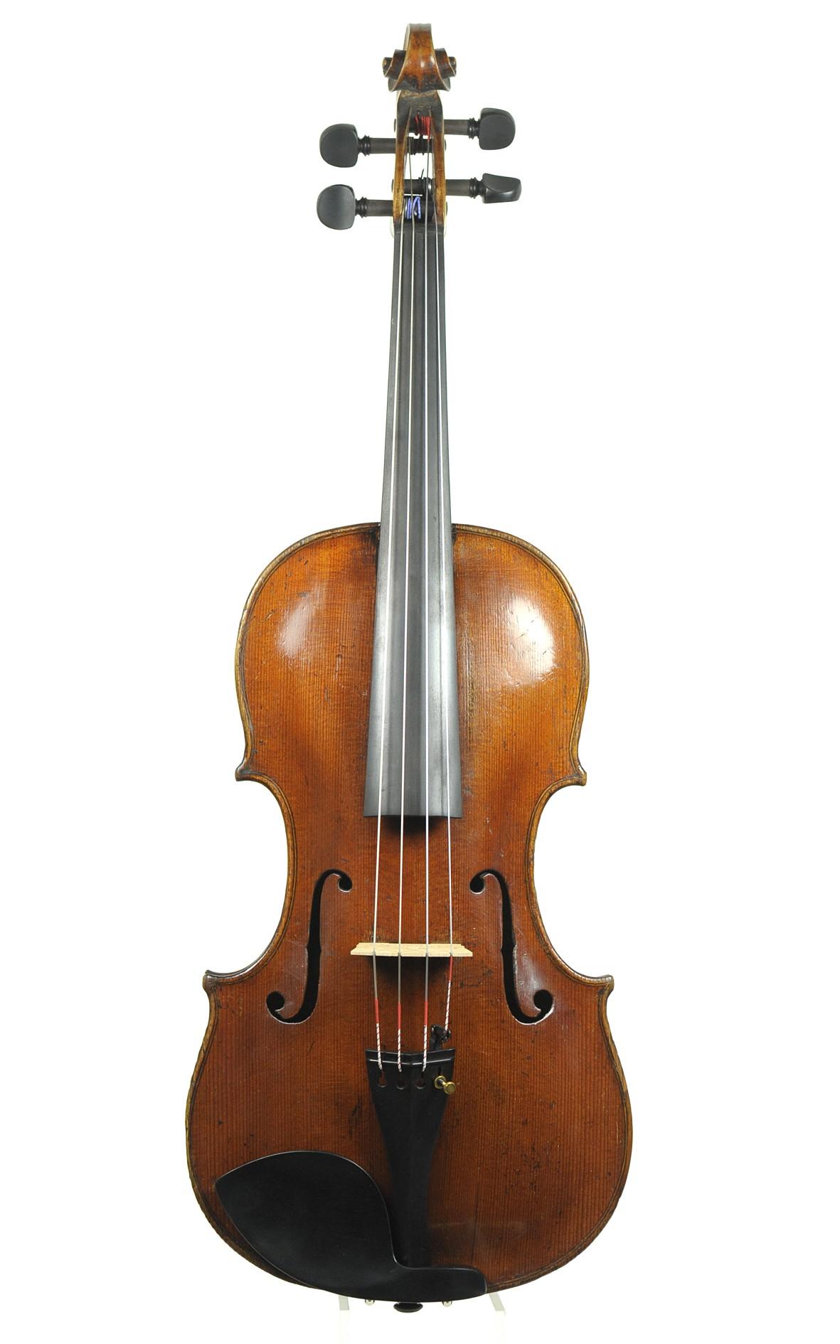Interesting 18th century Markneukirchen viola, 1780 / 1790