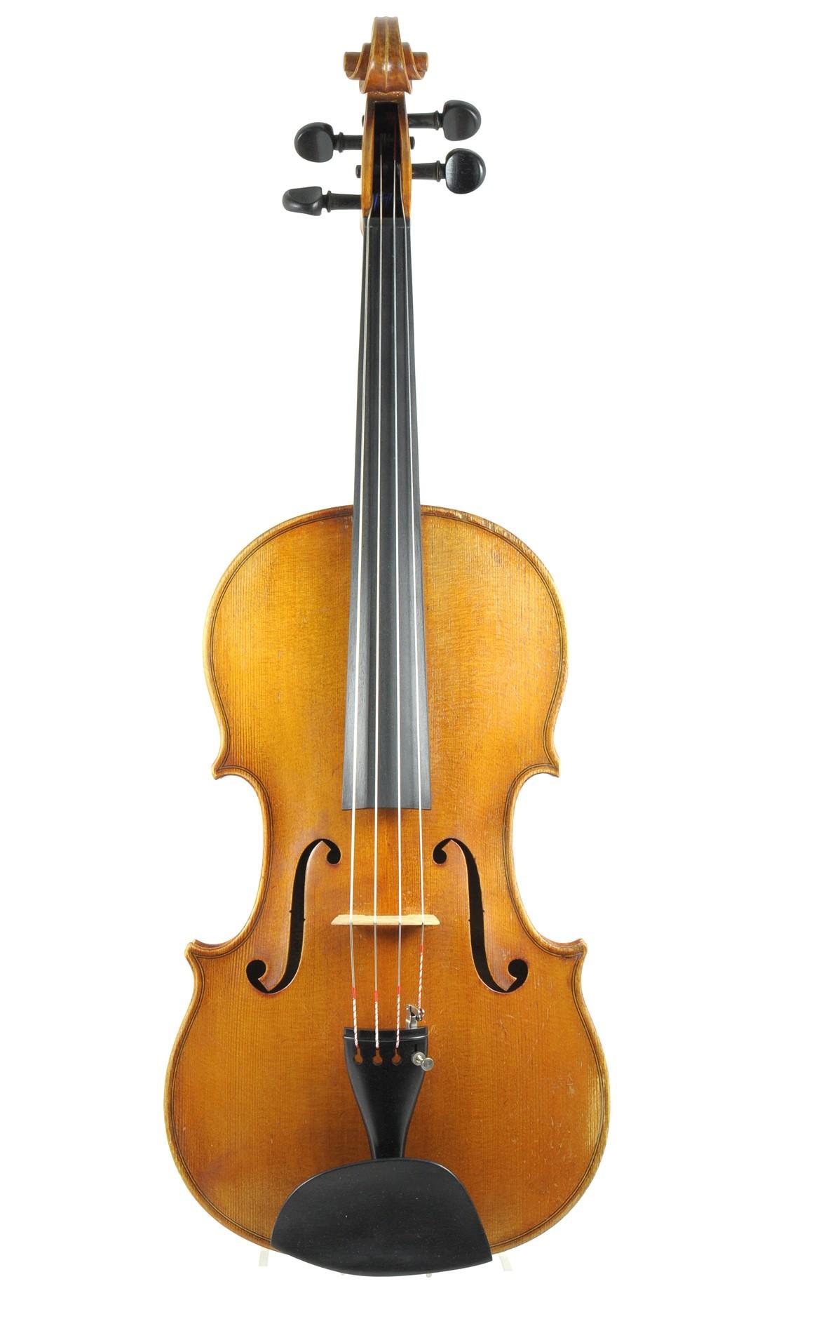 Ottomar Hausmann, viola, Mittenwald ca. 1950 - top
