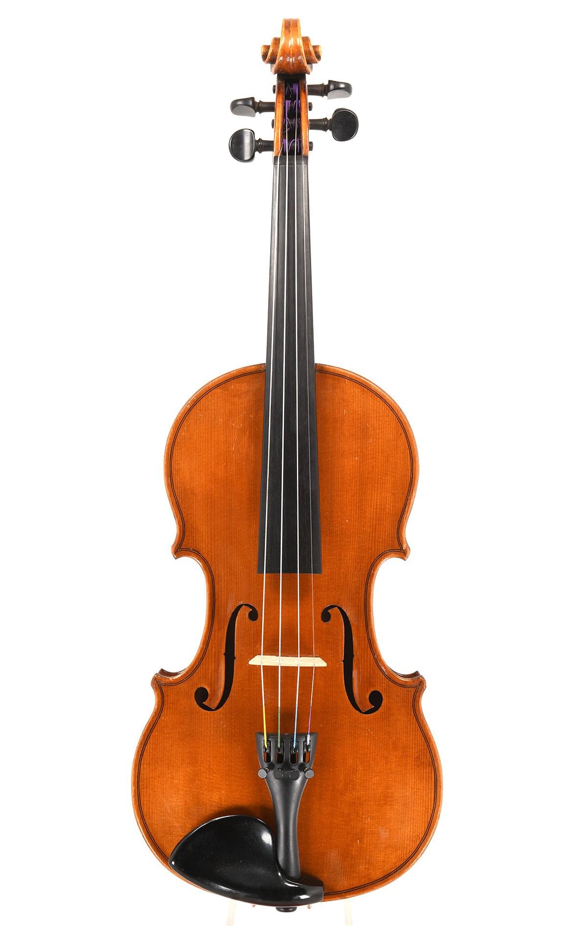 Violin from Markneukirchen (Bad Elster), c.1980 - master violin maker Emil Barth