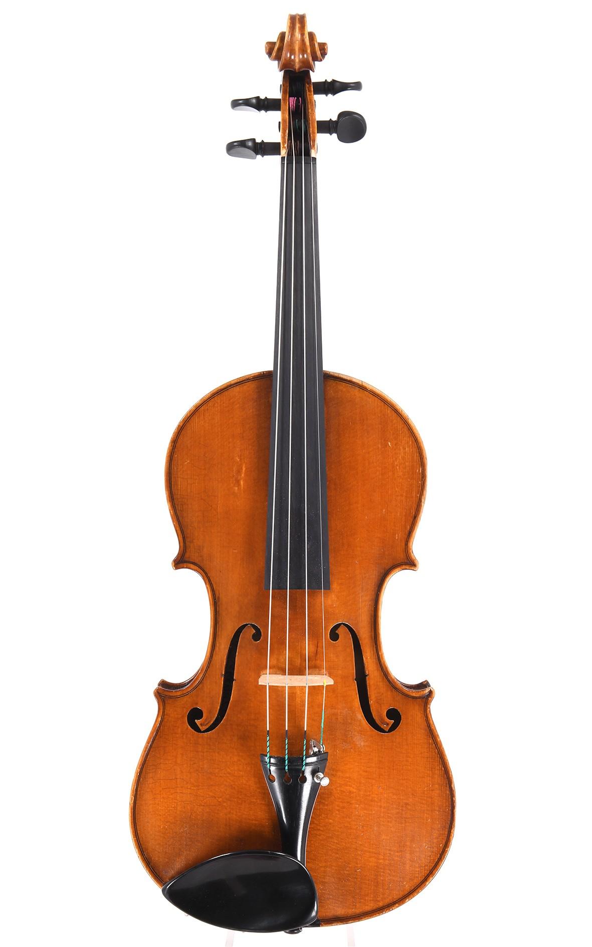 Italian violin from the Officina Claudio Monteverde, Cremona
