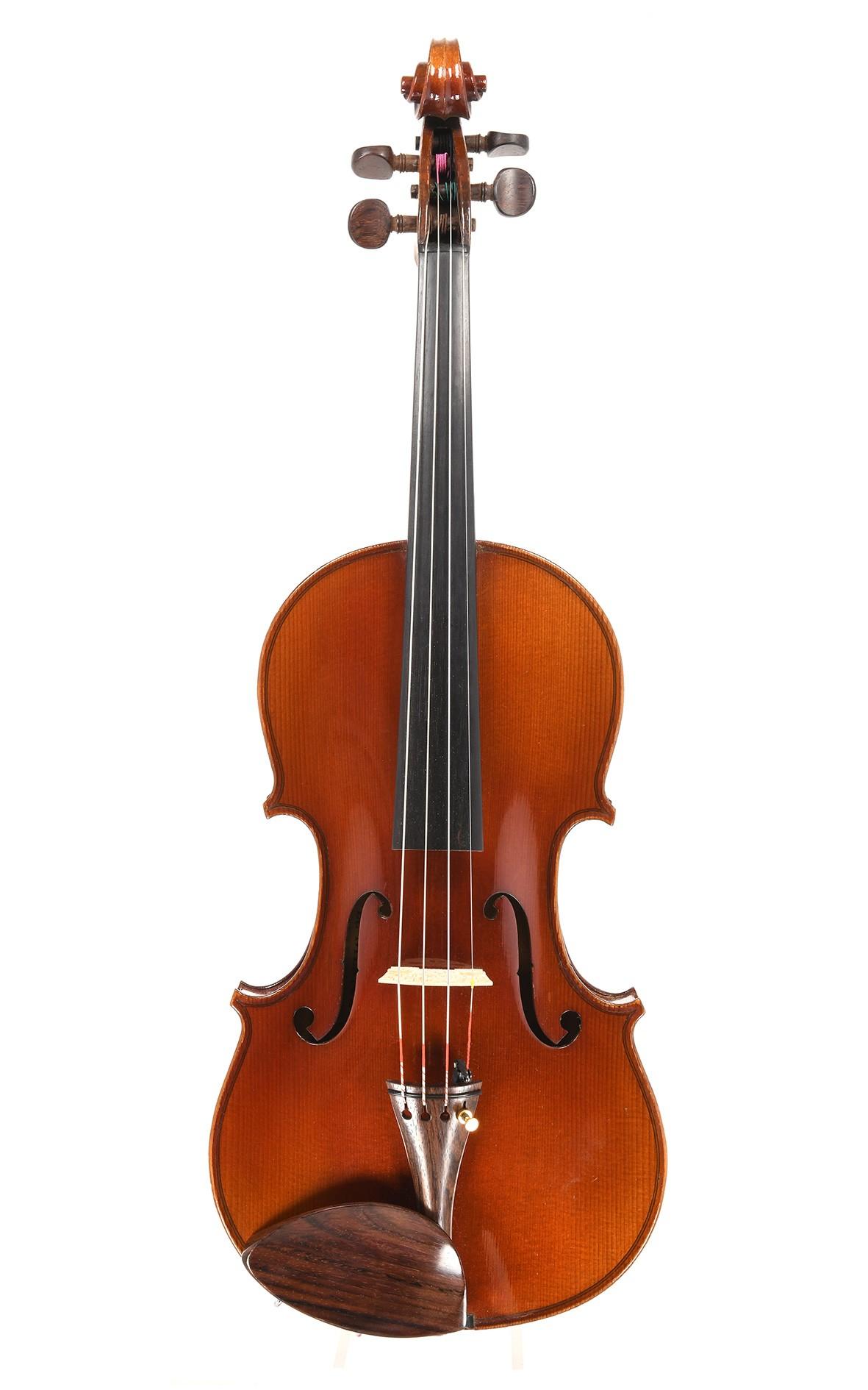 """Geige aus Mirecourt Modell """"Le Stentor"""" für Paul Beuscher"""