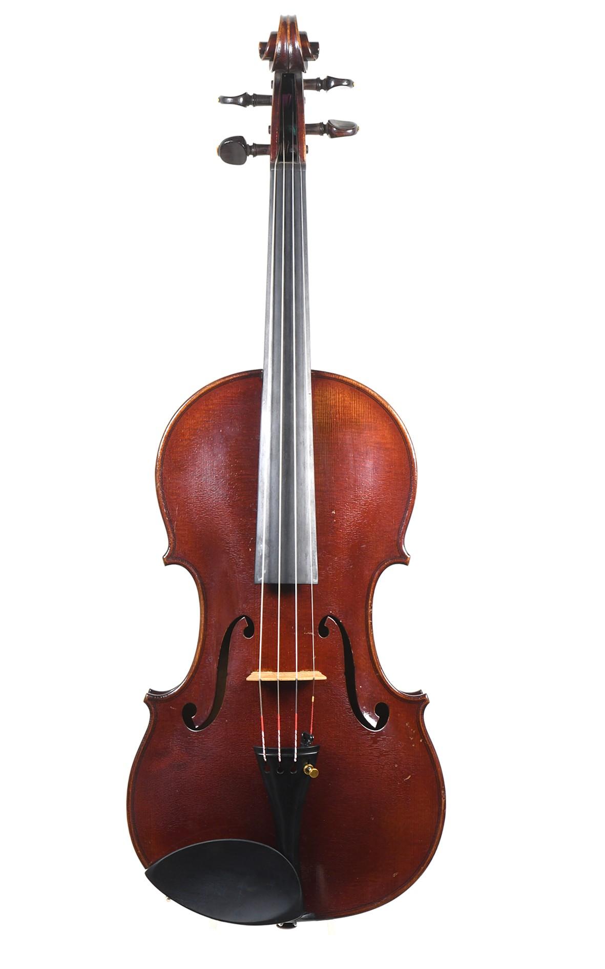 Fine French master violin, Joseph Aubry, 1937