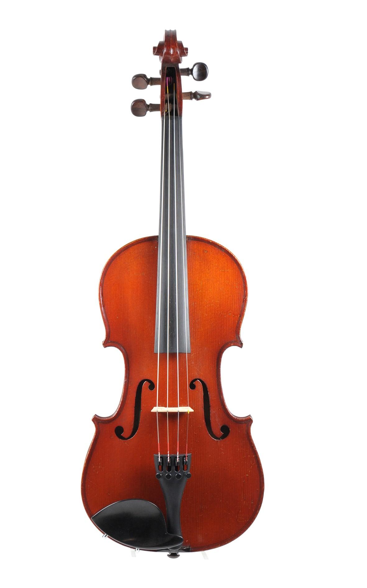 Carel 3/4 violin, Laberte-Humbert approx. 1920 - front view