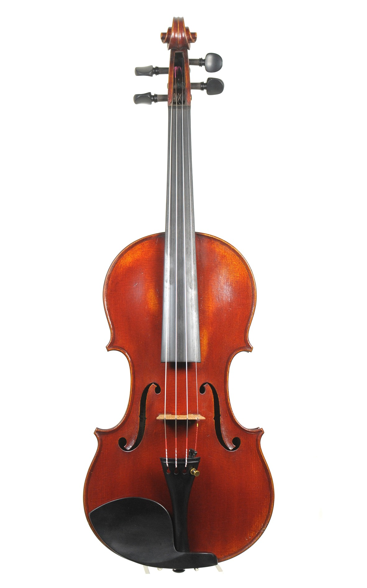 Fine French Paris master violin, Georges Defat, No. 87, 1942 - top view