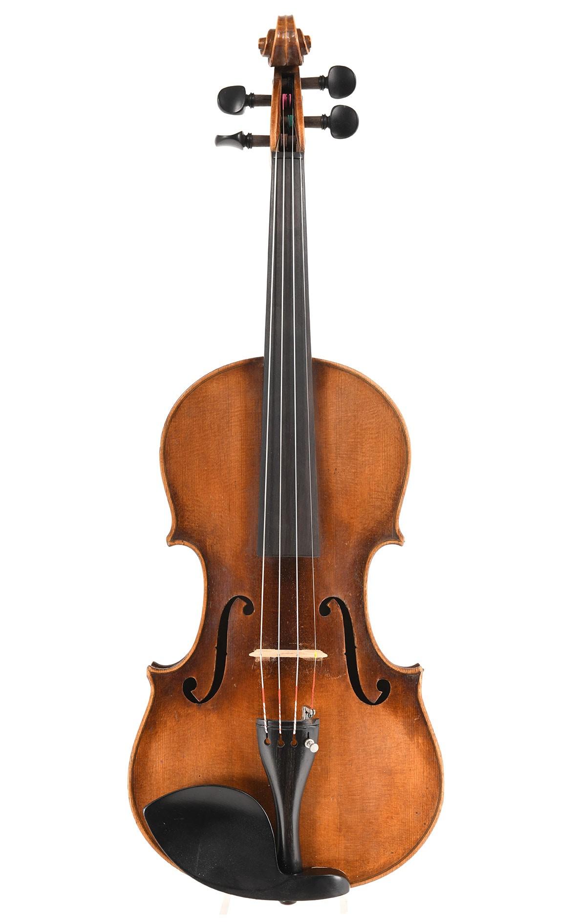 Violon ancien. Saxe, d'après Stradivarius, vers 1920
