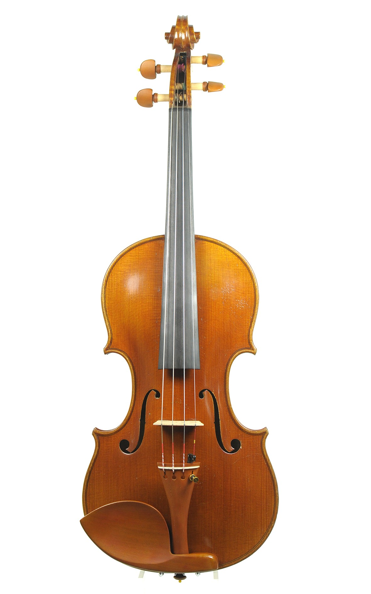 Fine French violin, Louis Fricot - top