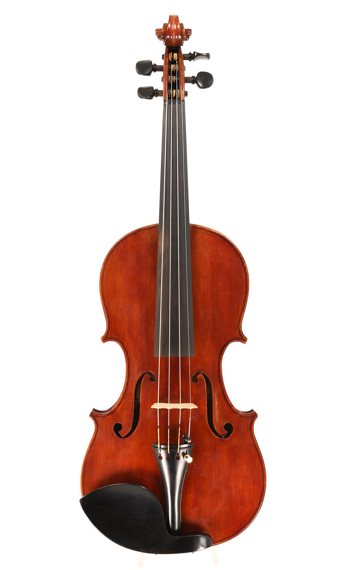 Fine Italian violin by Mario Gadda, 1972 - top