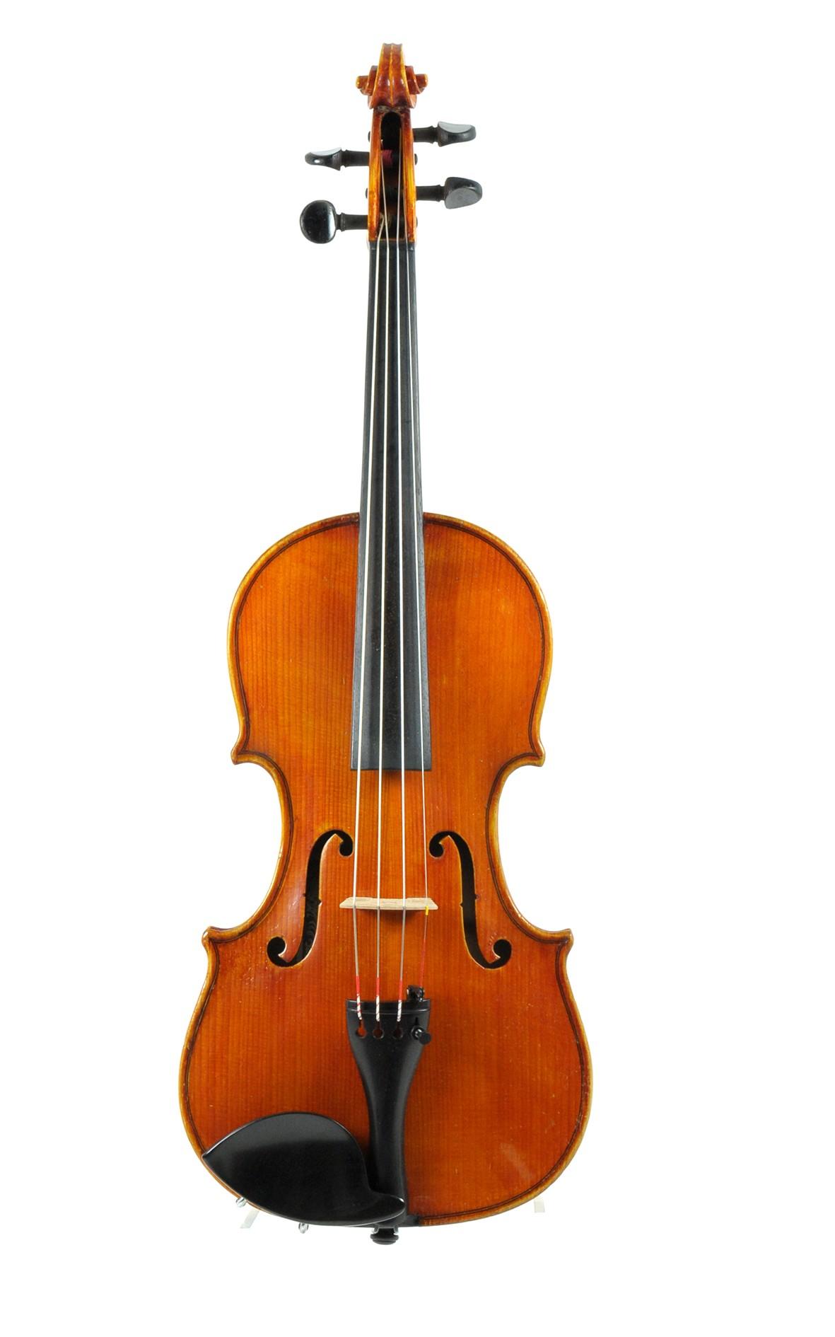 1/2 violin by Johann Keller, Vogtland - top