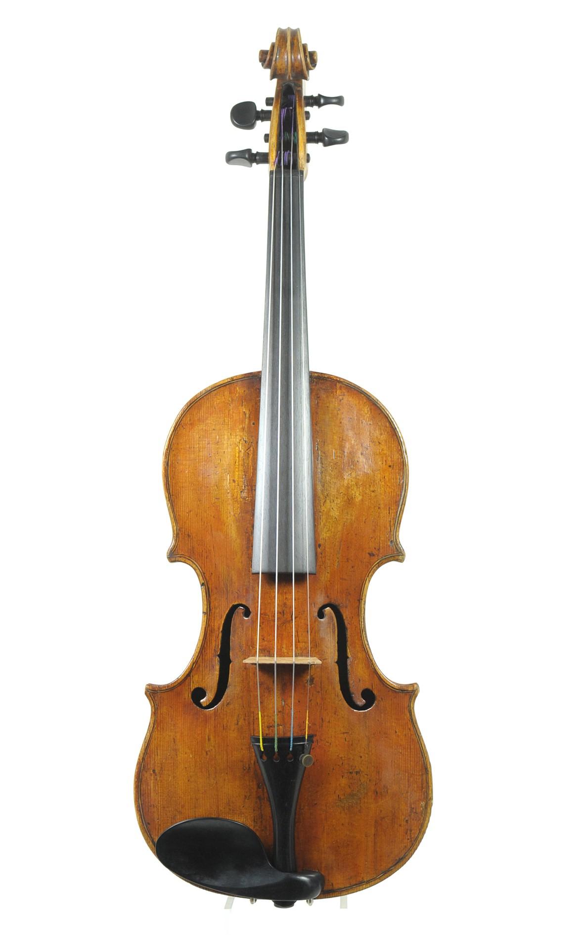 Fine Italian violin by Giulio Cesare Gigli, circa 1760