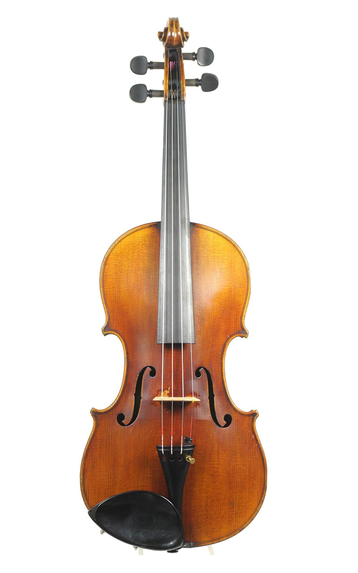 Student violin, Markneukirchen - top