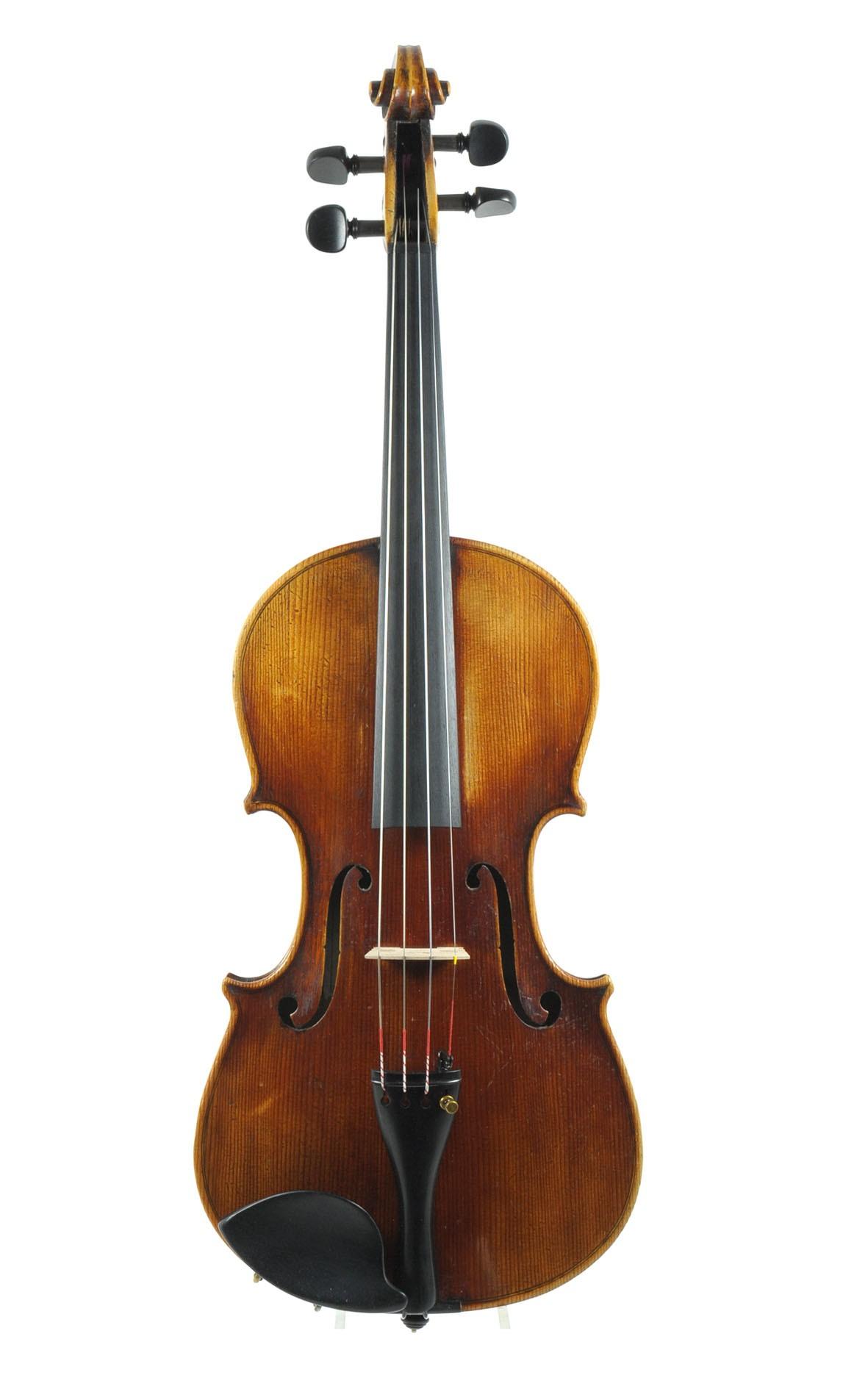 Franz Pfaff, Kaiserslautern Germany, violin approx. 1920 - table
