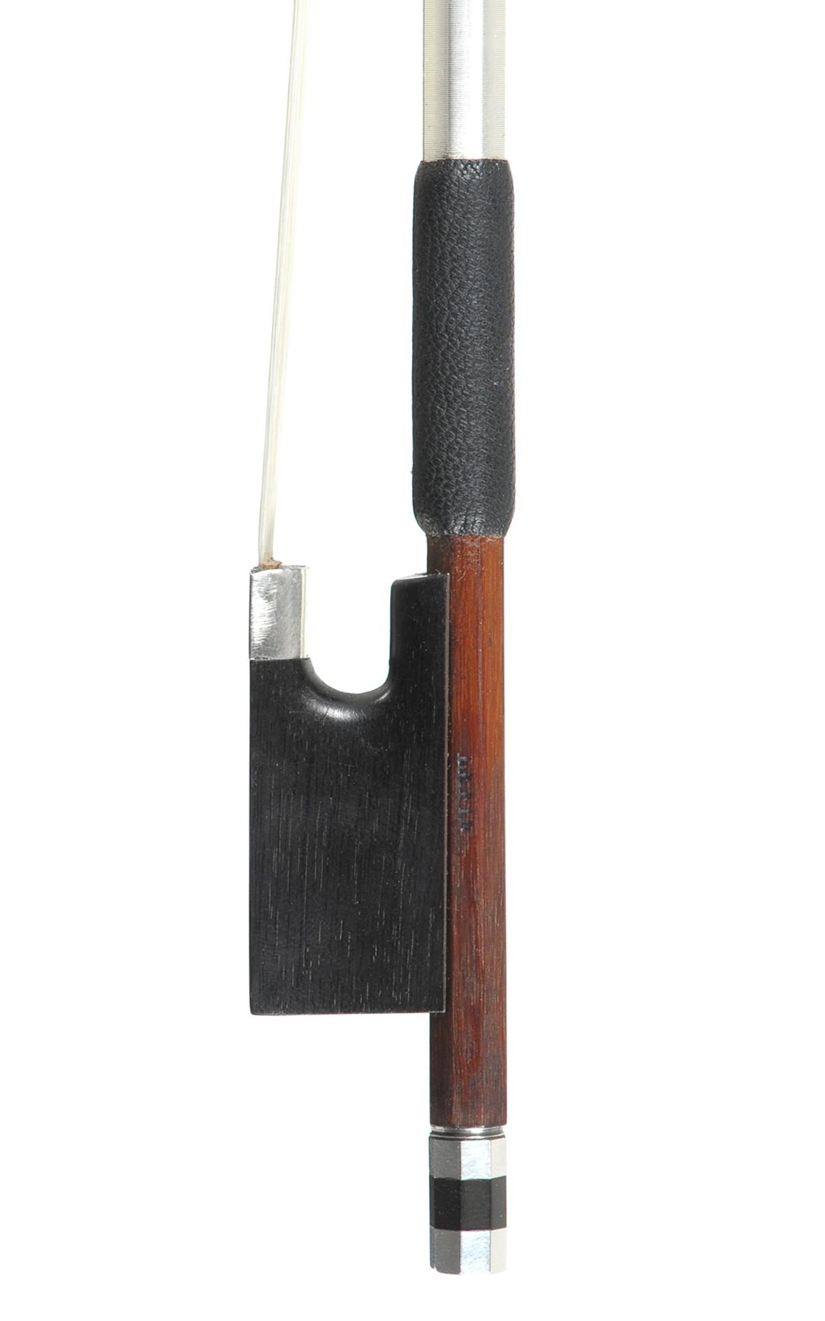 Swiss violin bow, Finkel, approx. 1980 - frog