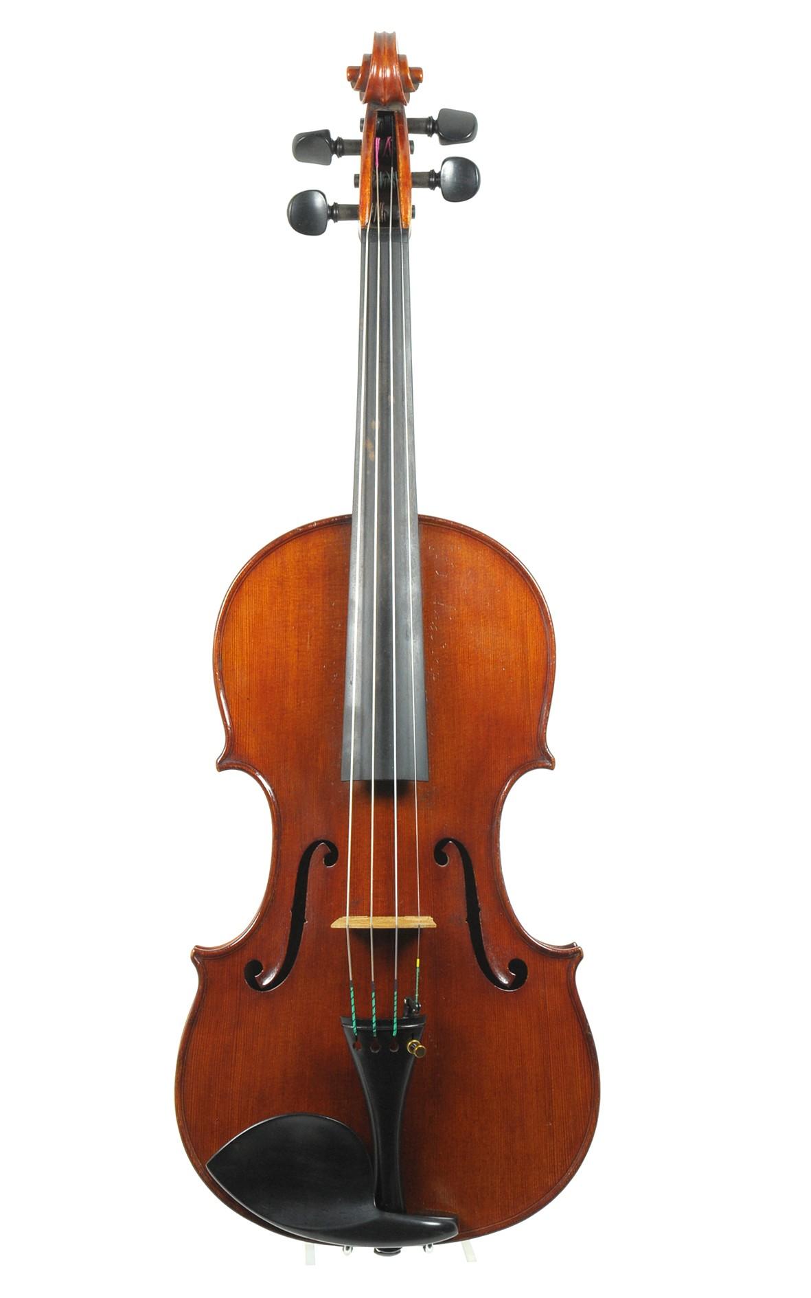 Giovanni Schwarz, fine Italian violin Venice 1913 (certificate by Eric Blot)
