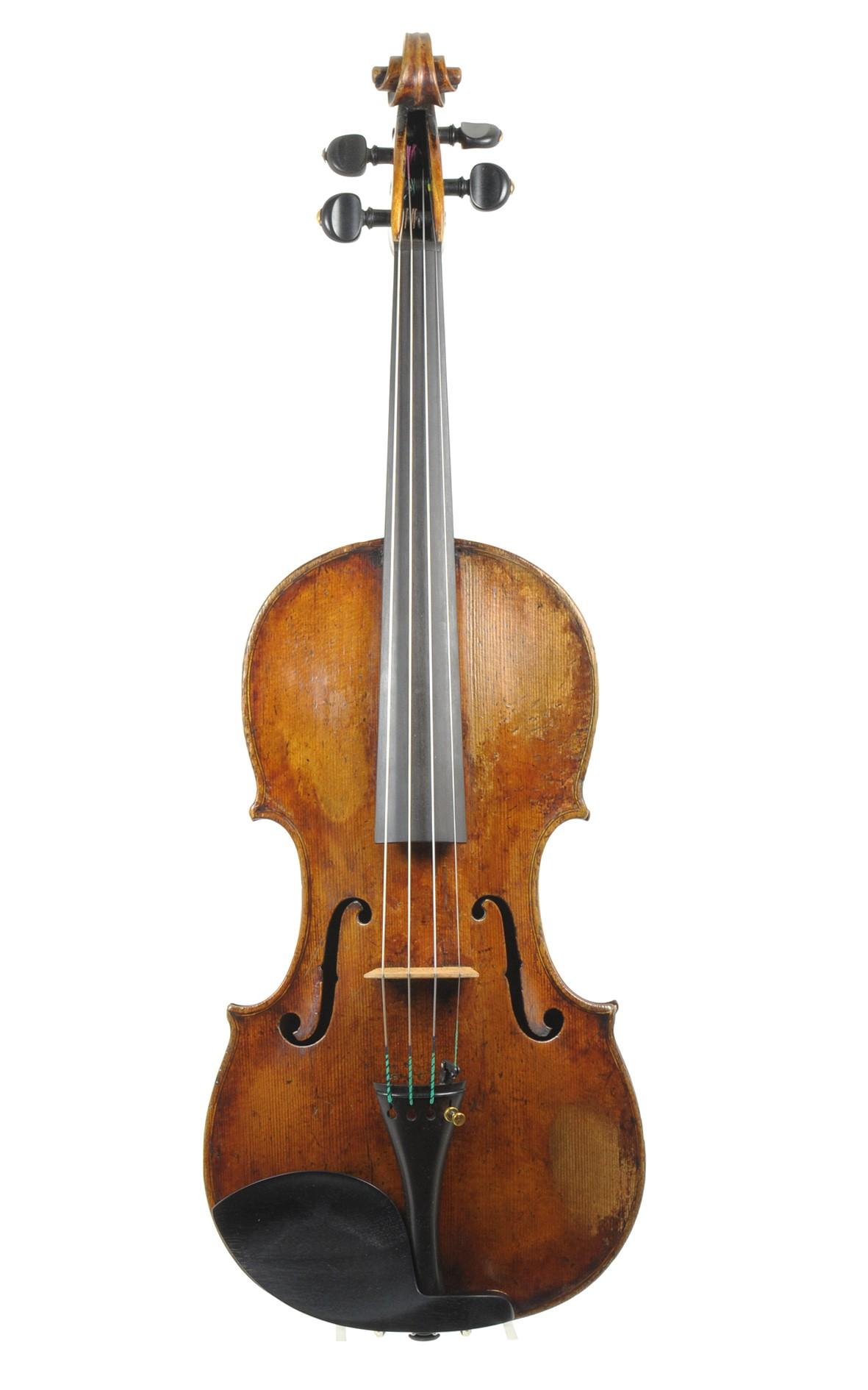Fine violin of the Mittenwald violin making tradition