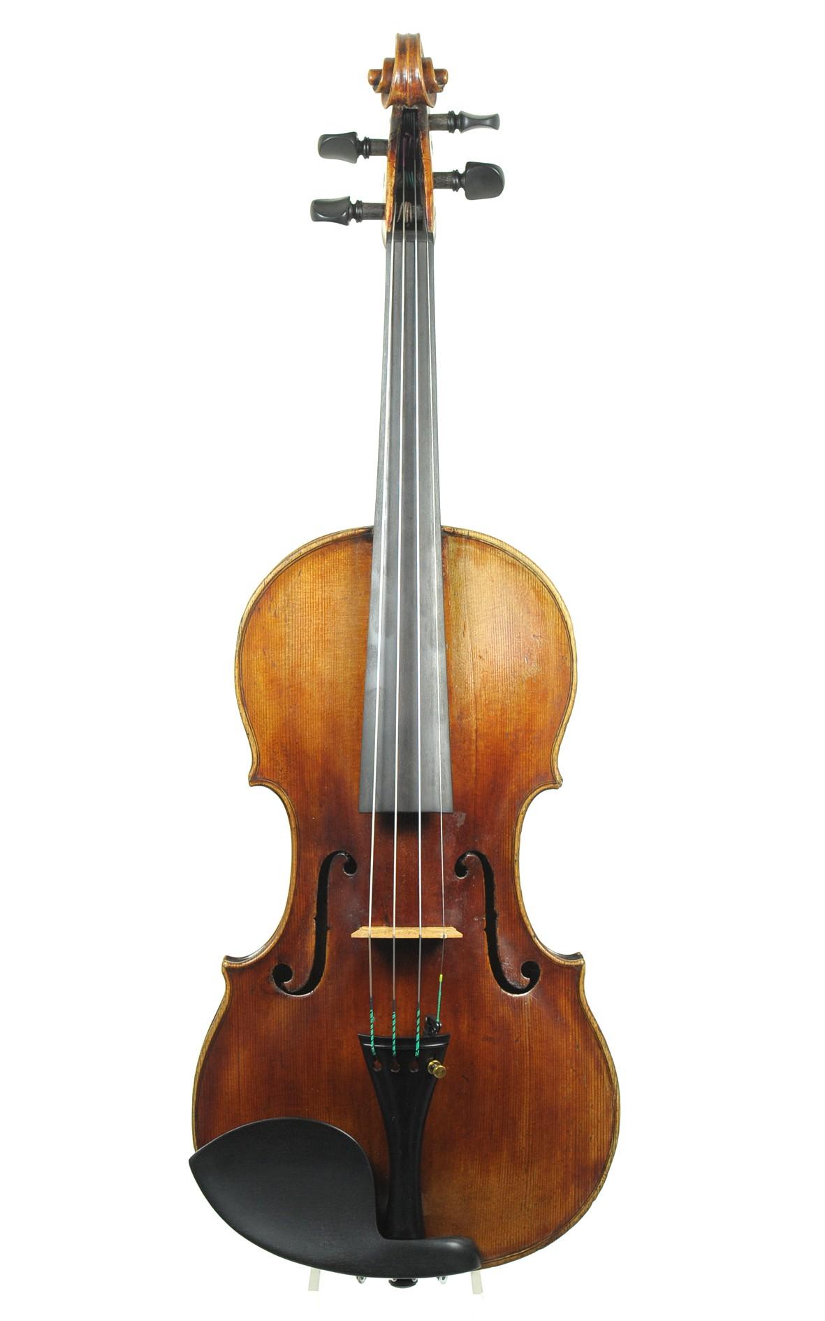 Fine 1789 Violin by Franz Knitl, Freising - top