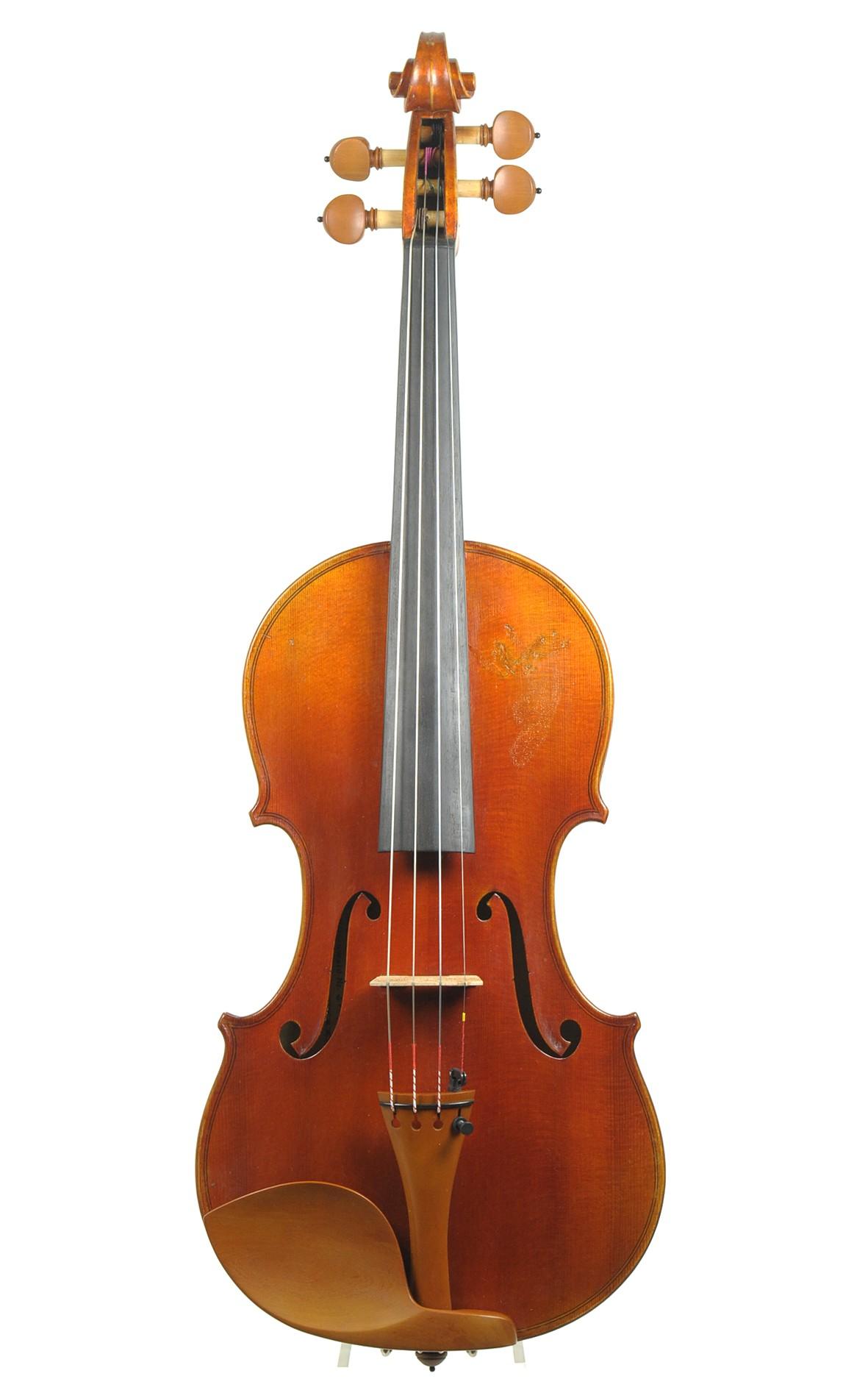 Mittenwald violin after Guarneri, Hans Fürst, no. 200