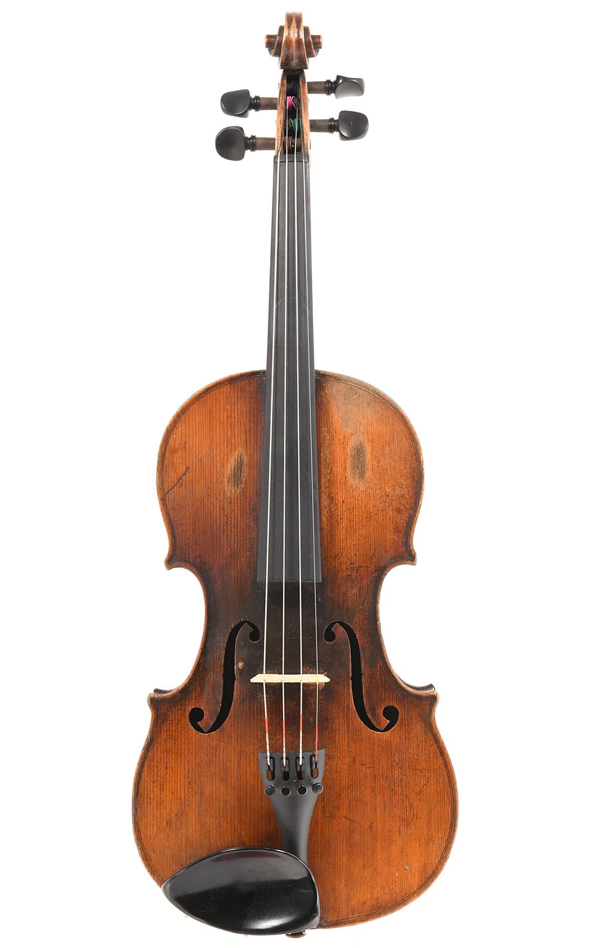 Atelier Laberte: antique French violin around 1910