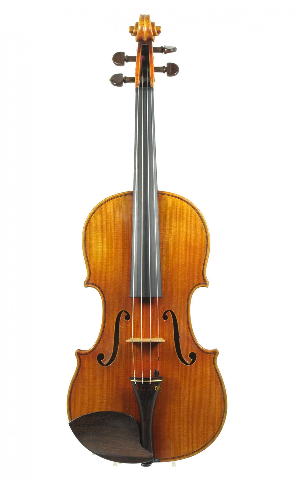 Leo Aschauer, Mittenwald: excellent violin, 1963