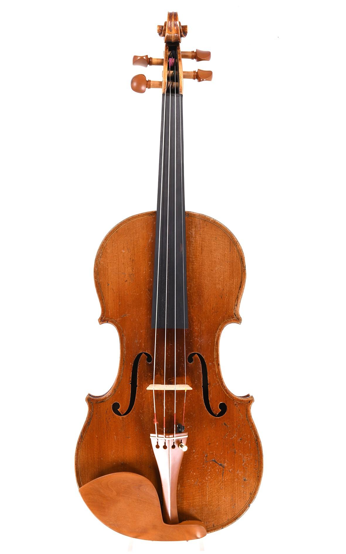 Antike französische Violine aus dem Atelier Justin Derazey