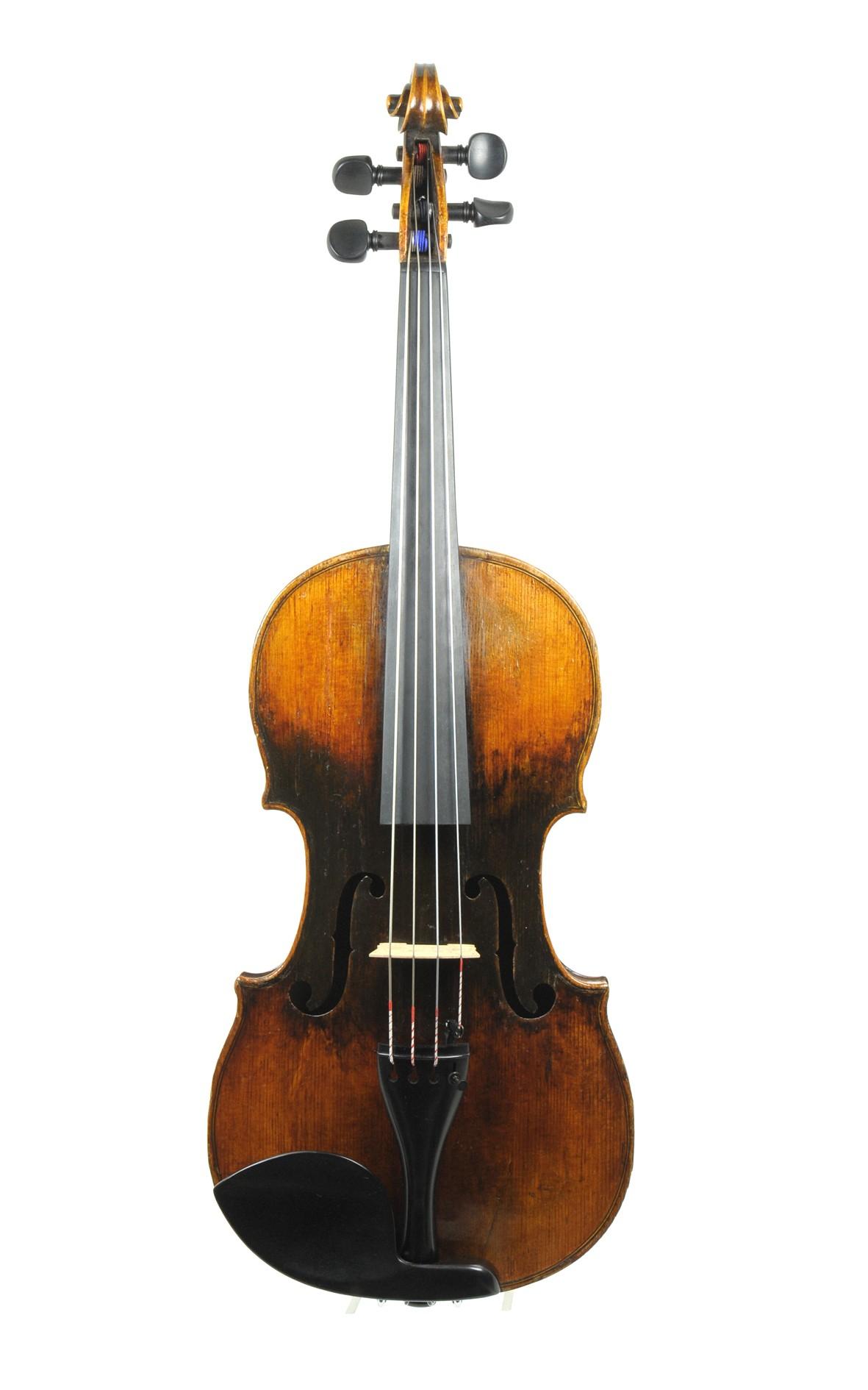 Petite French viola, 19th century - top