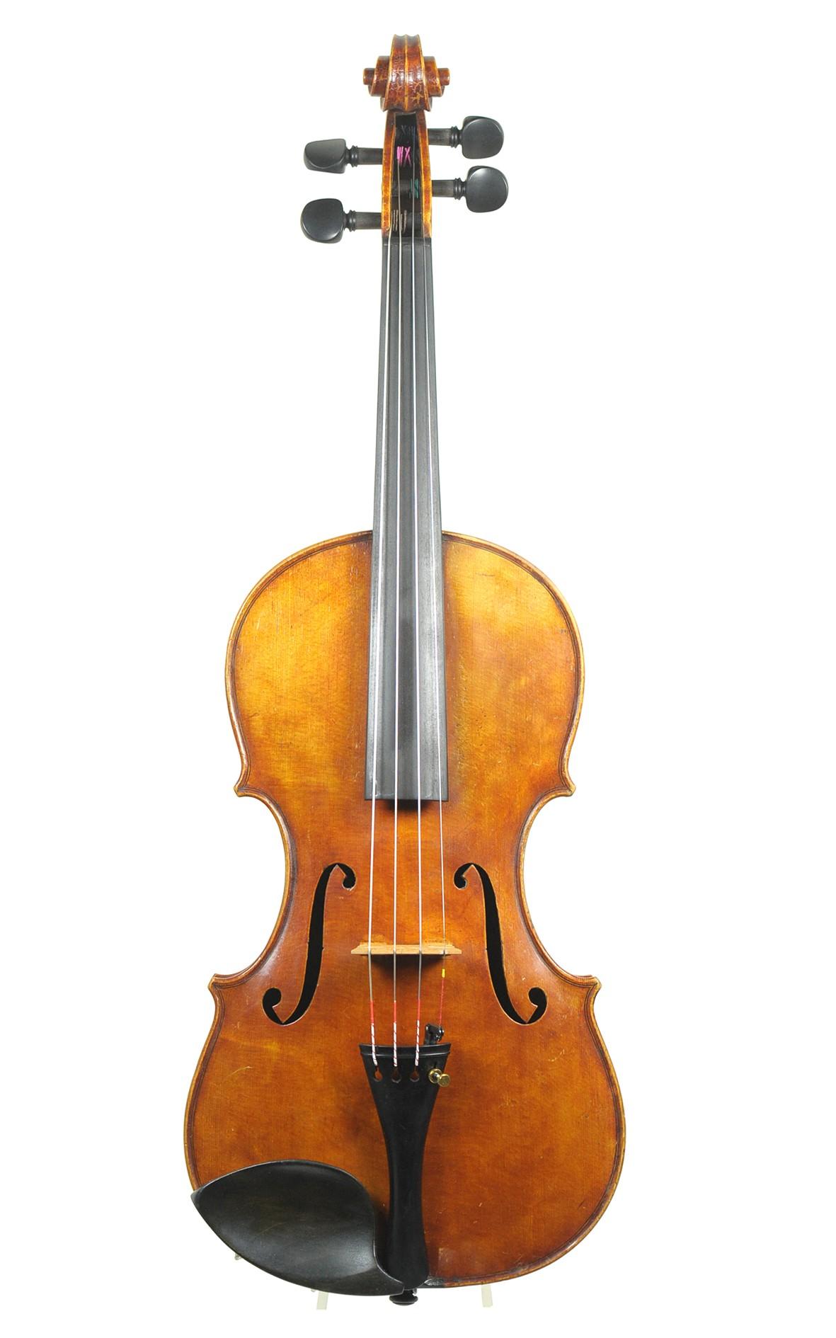 English master violin no. 50 by George Hudson  - top
