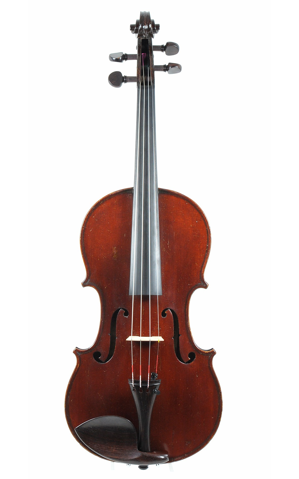 Violin with stamp Nicholas Duchene (JTL), Mirecourt ca. 1900 - top