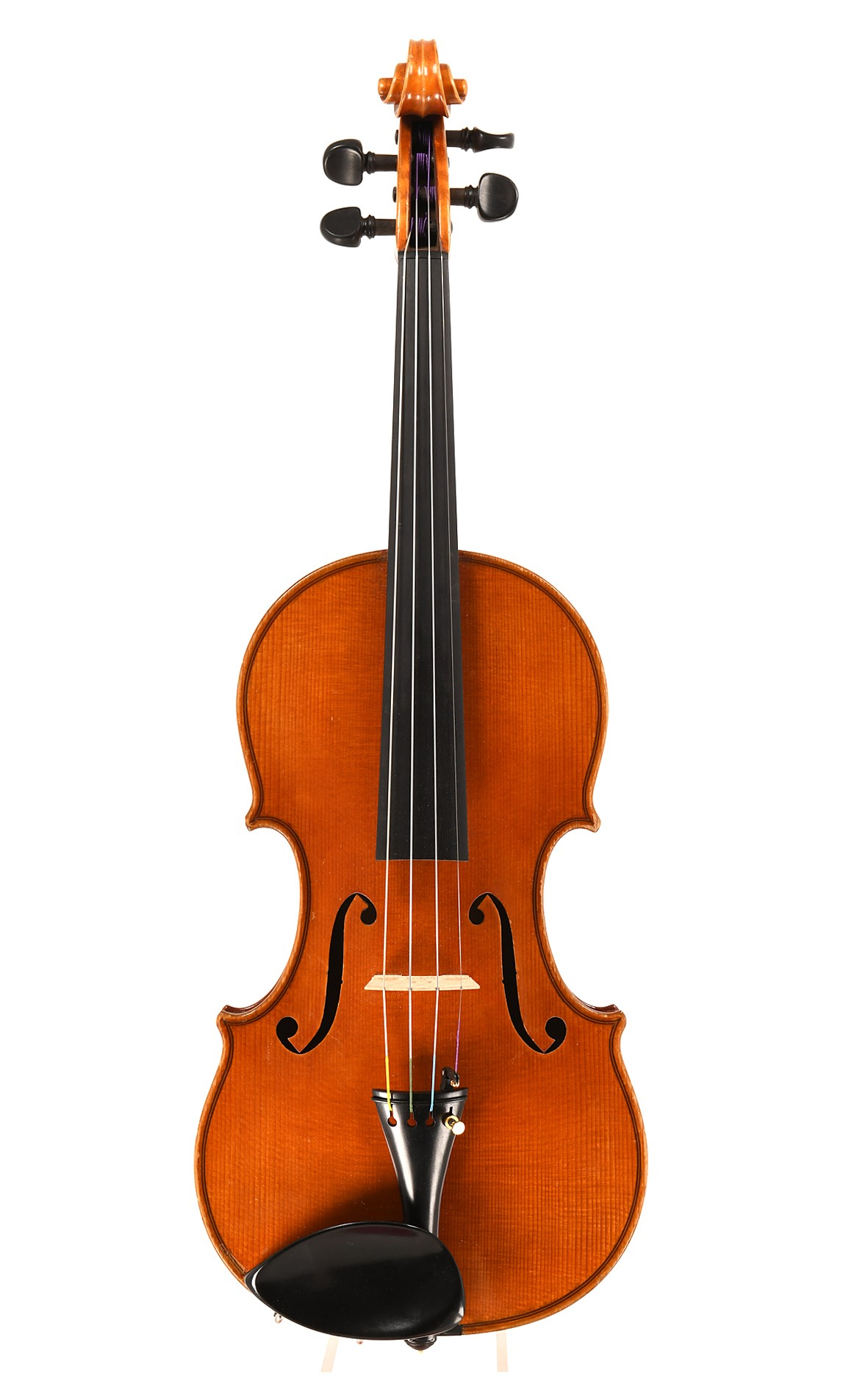 Fine, modern Czech master violin - probably Praguey - table