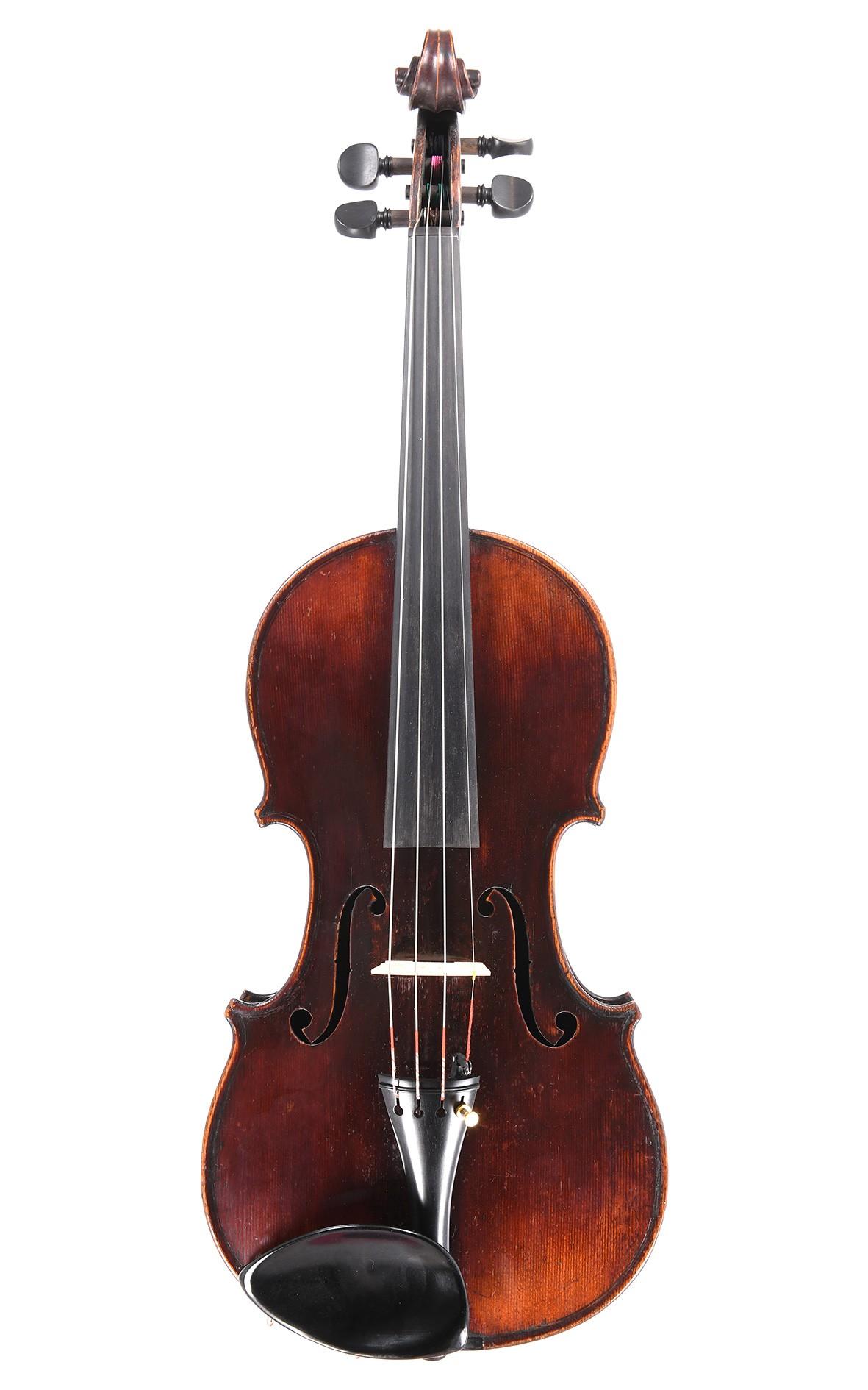 Antike Geige aus Mittenwald, circa 1850