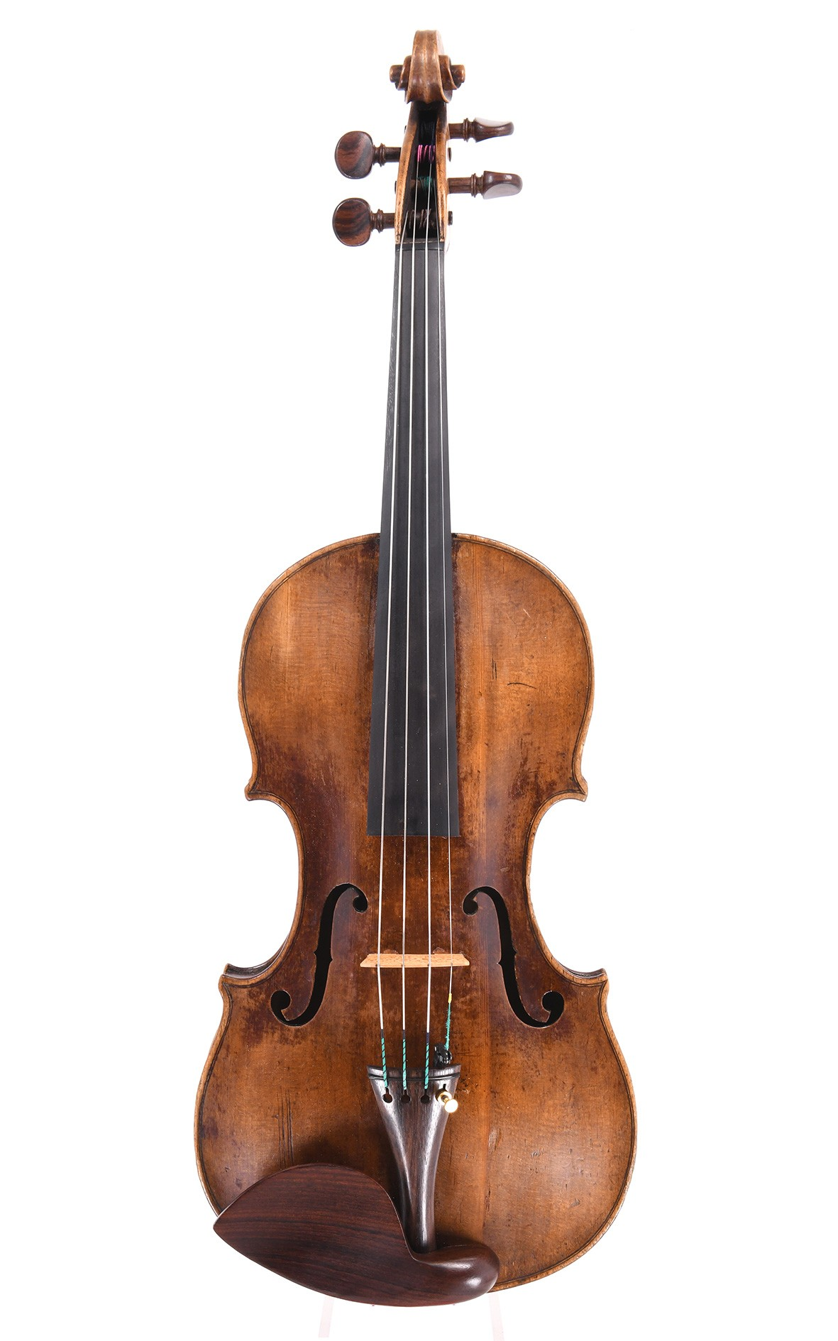 Violin by Andreas Gaessler, Mittenwald 1764