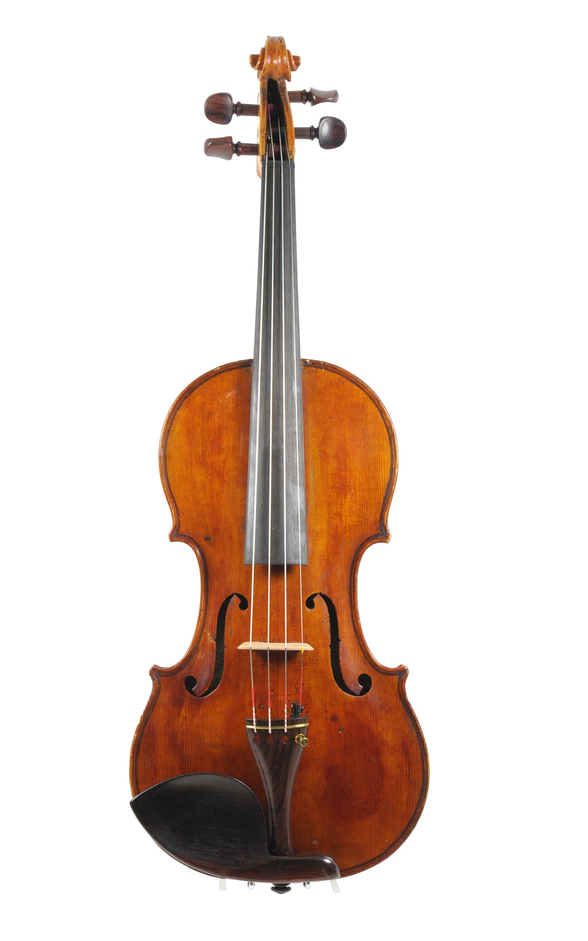 Franco-Italian violin, circa 1820 - top