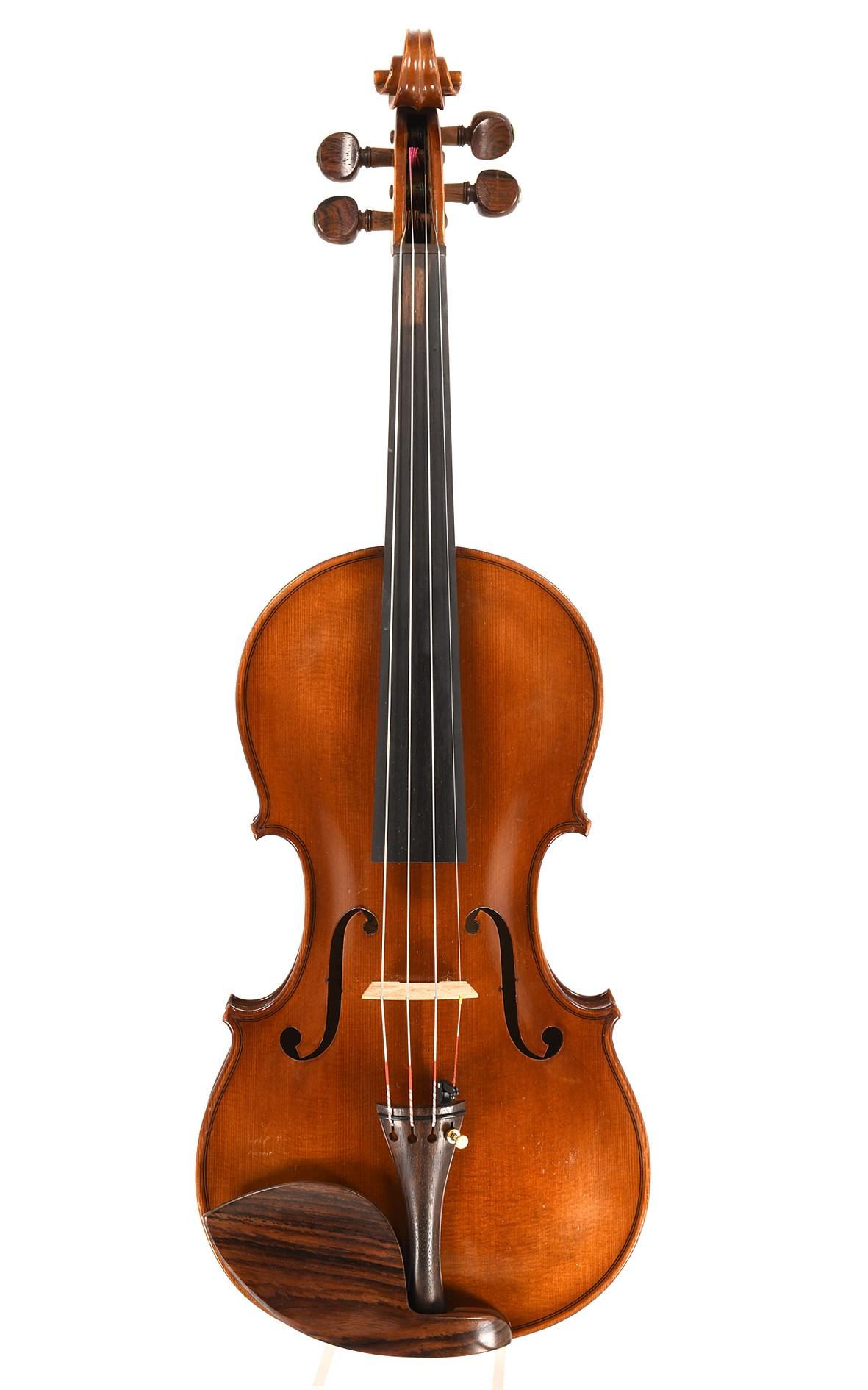 René Morizot, violin spruce top