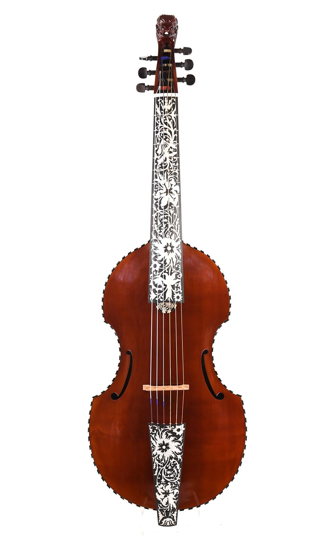 Viola da Gamba nach Joachim Tielke, Hamburg 1689 (Tenorgambe)
